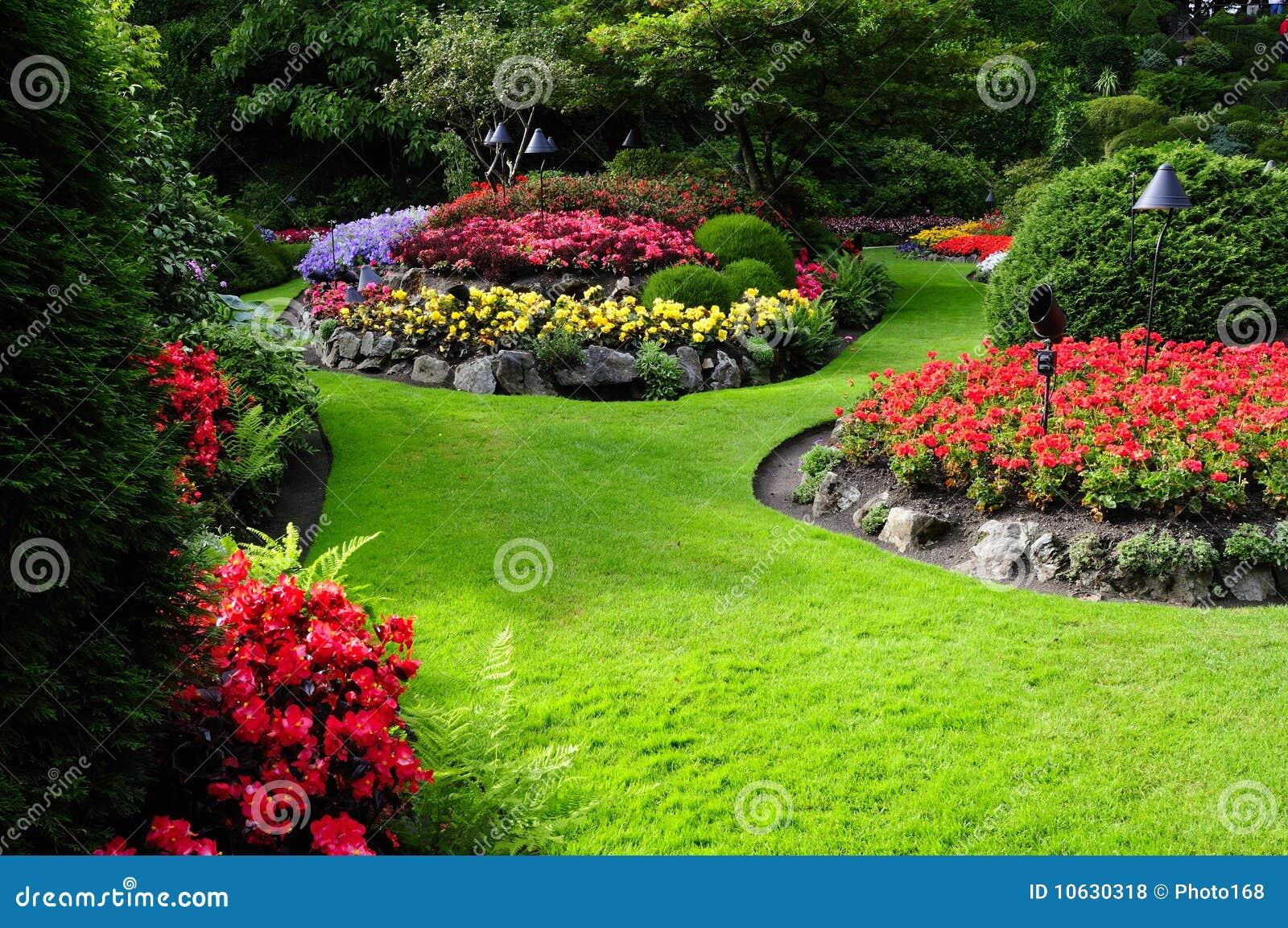 Formal Garden Royalty Free Stock Photos Image 10630318