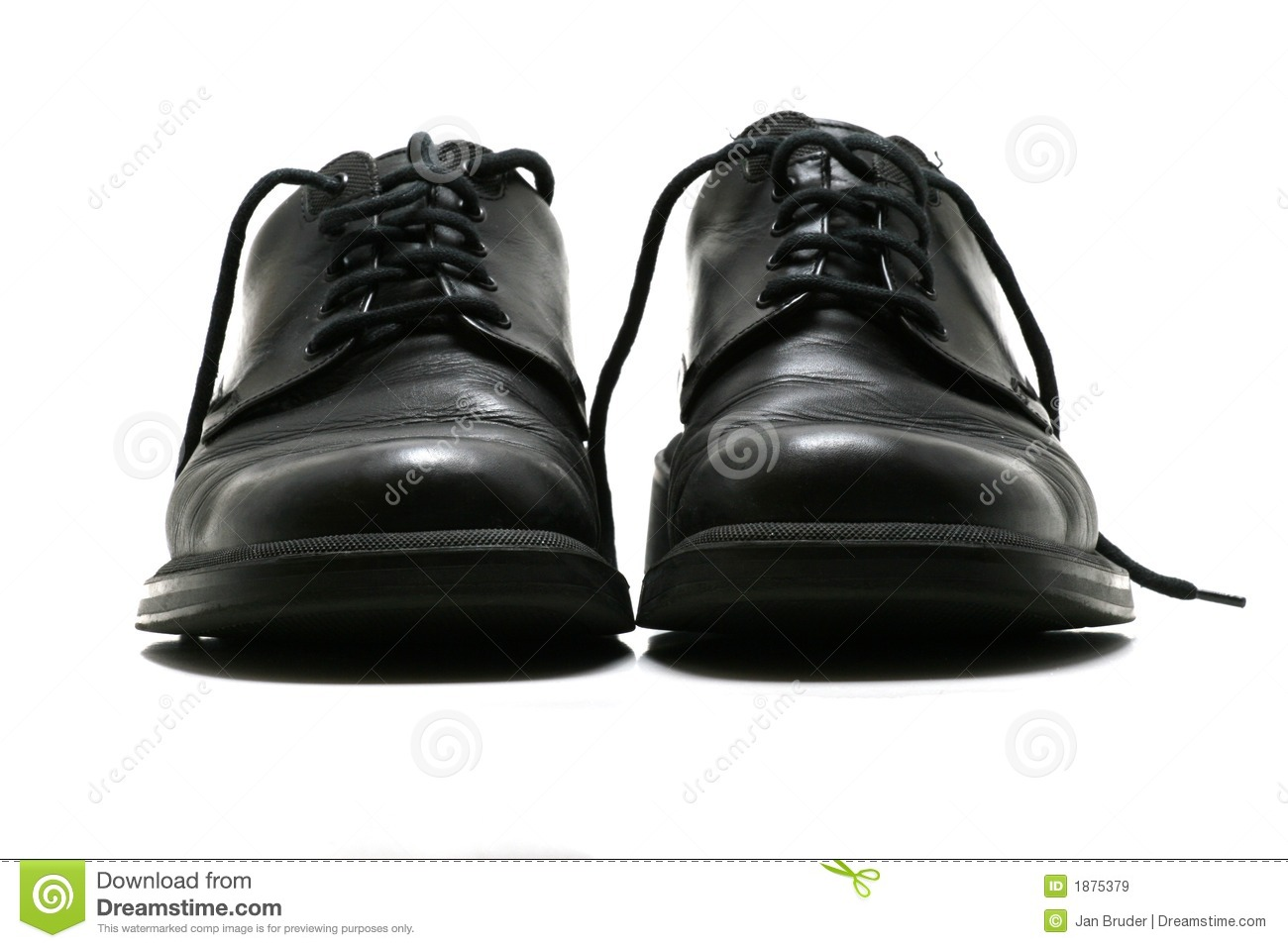 Formal Men's Black Leather Shoes Royalty Free Stock Images ...
