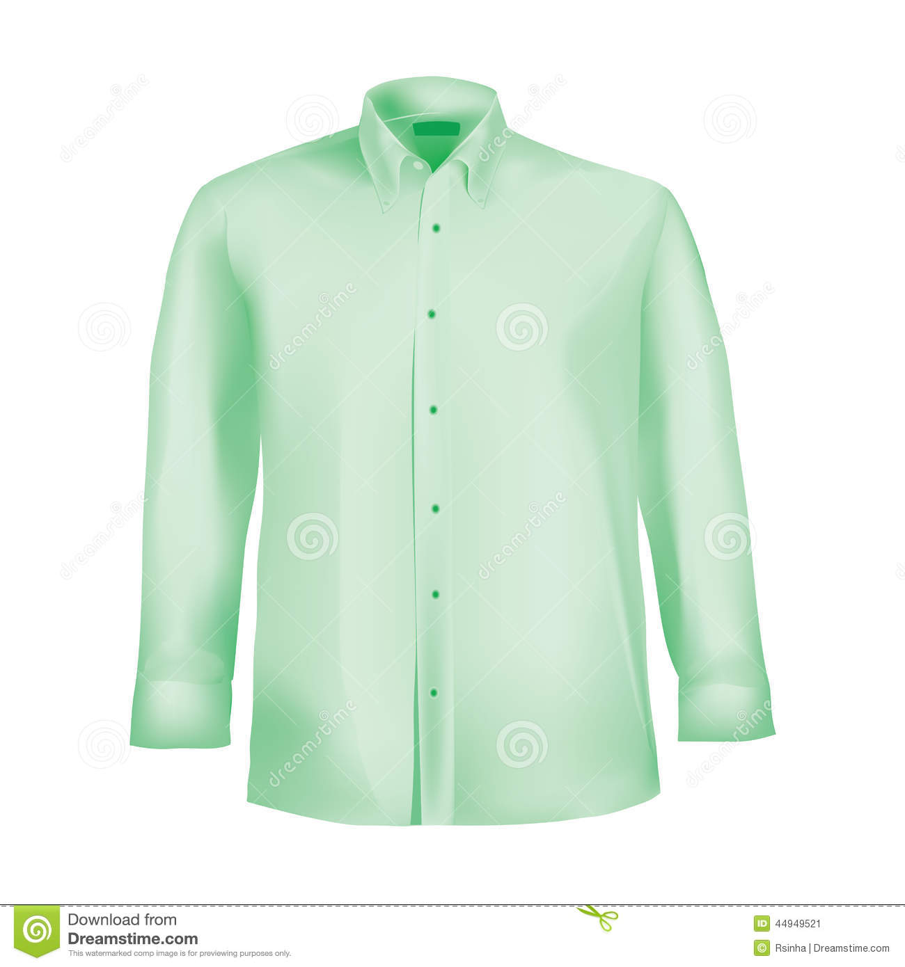 how to draw a button down shirt