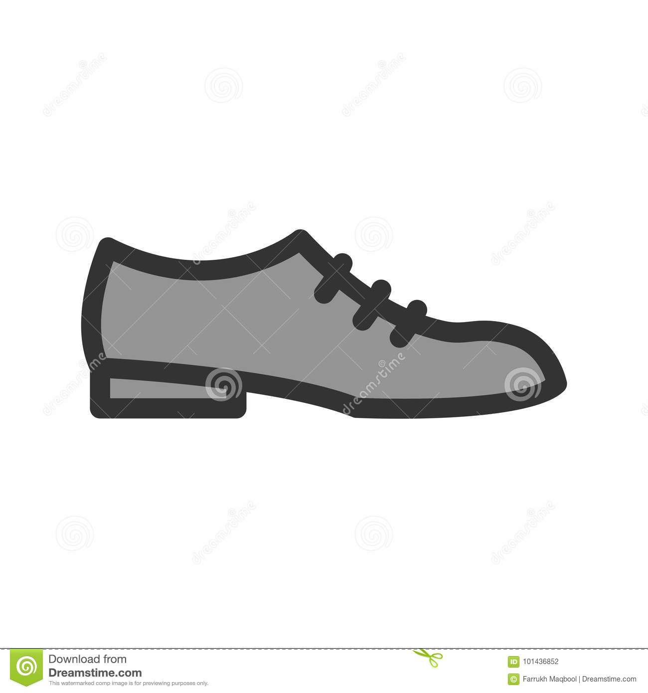 e53d186b1c42f5 Formal Shoes stock vector. Illustration of style