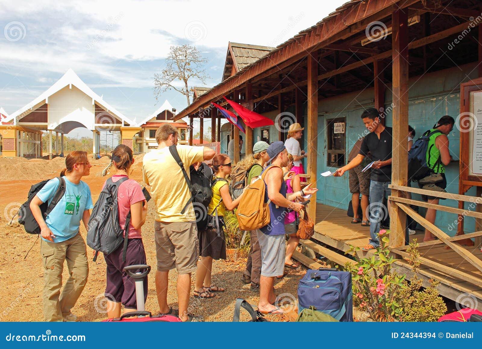 Formalités au cadre Cambodge - Laos