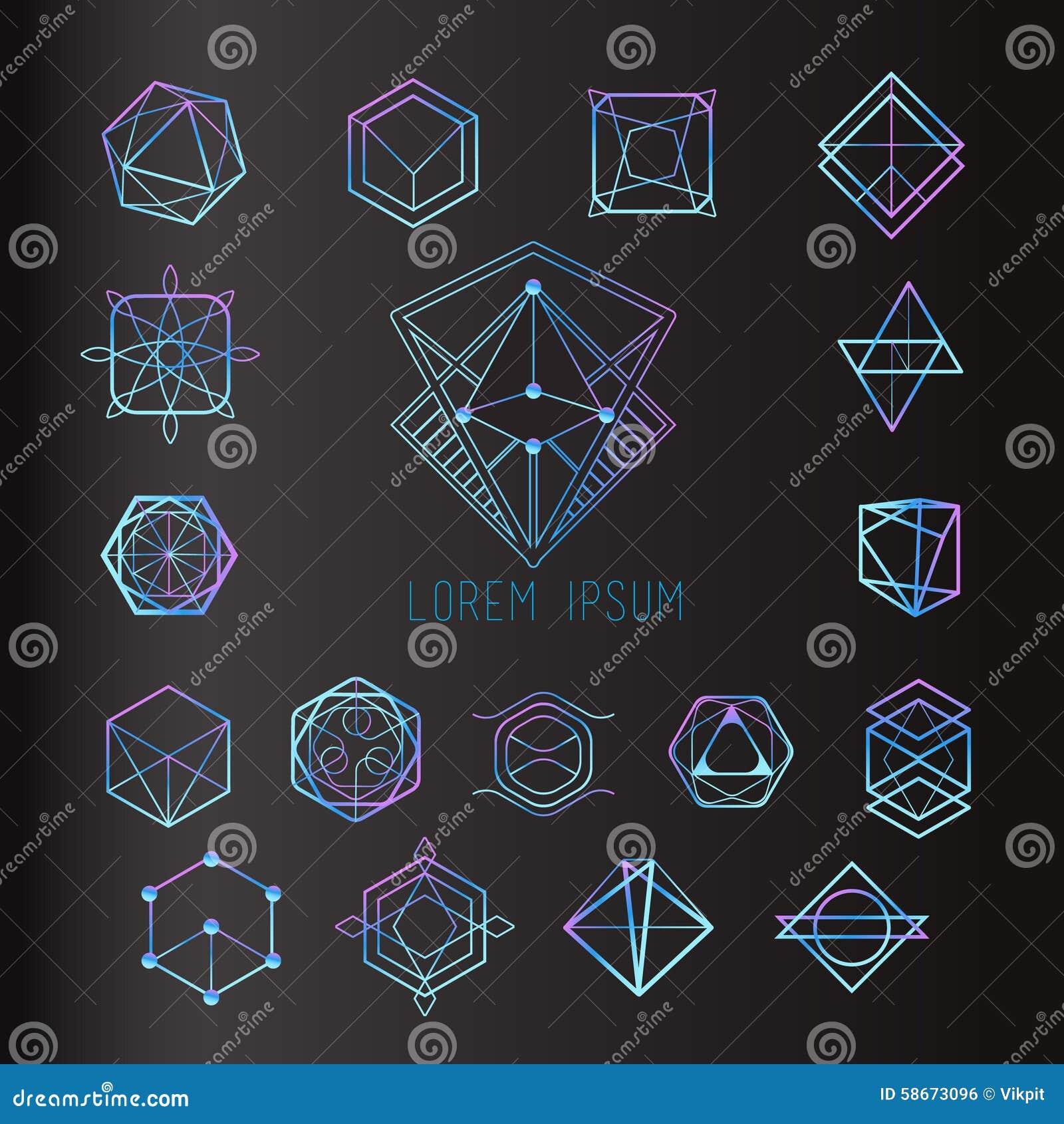 Formas sagradas de la geometría