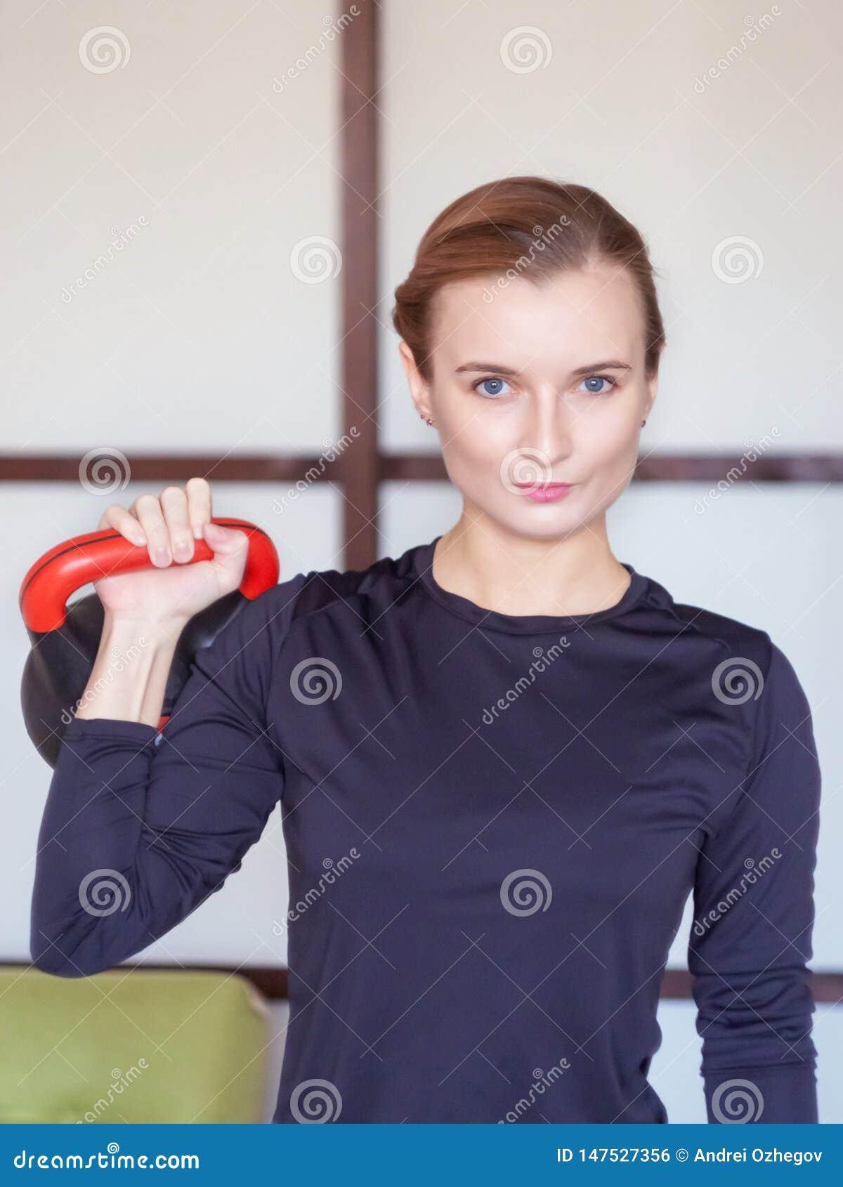 Formation de femme avec le kettlebell