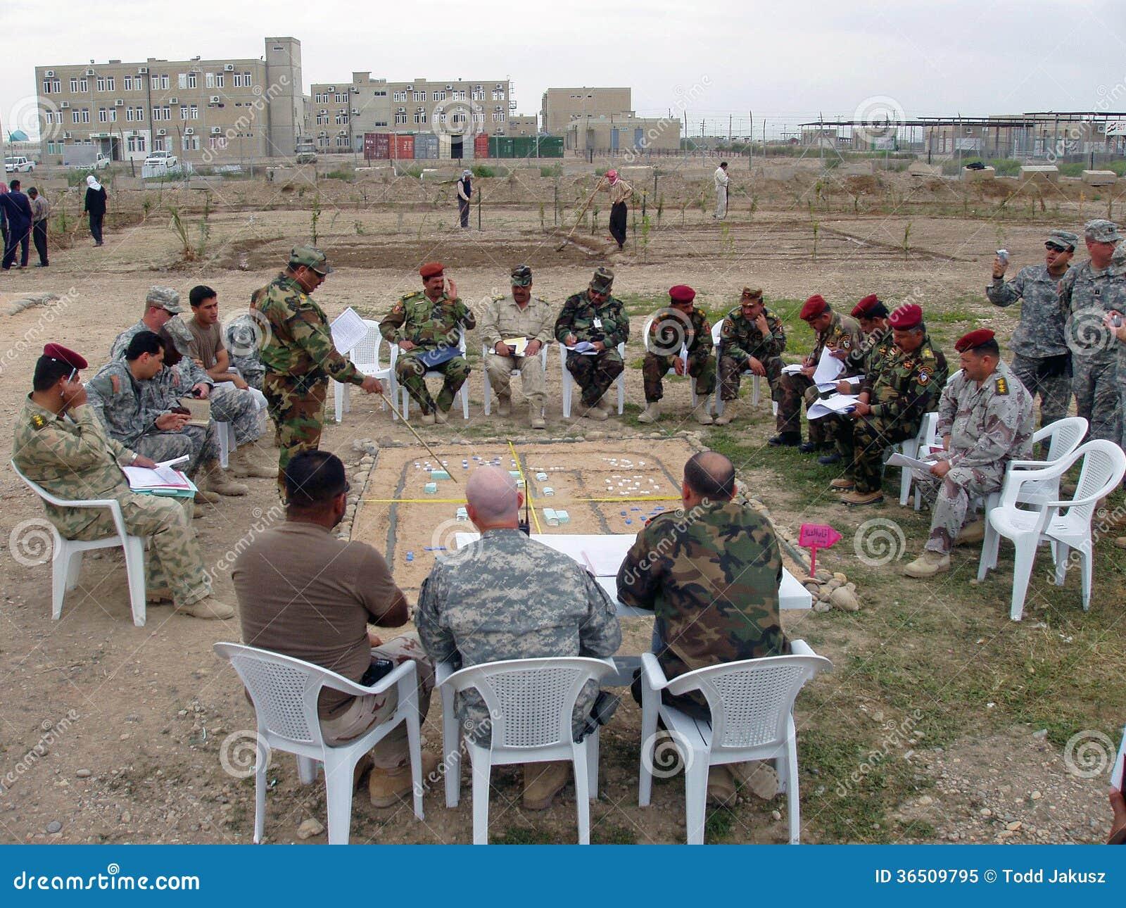 Formation de la police nationale irakienne