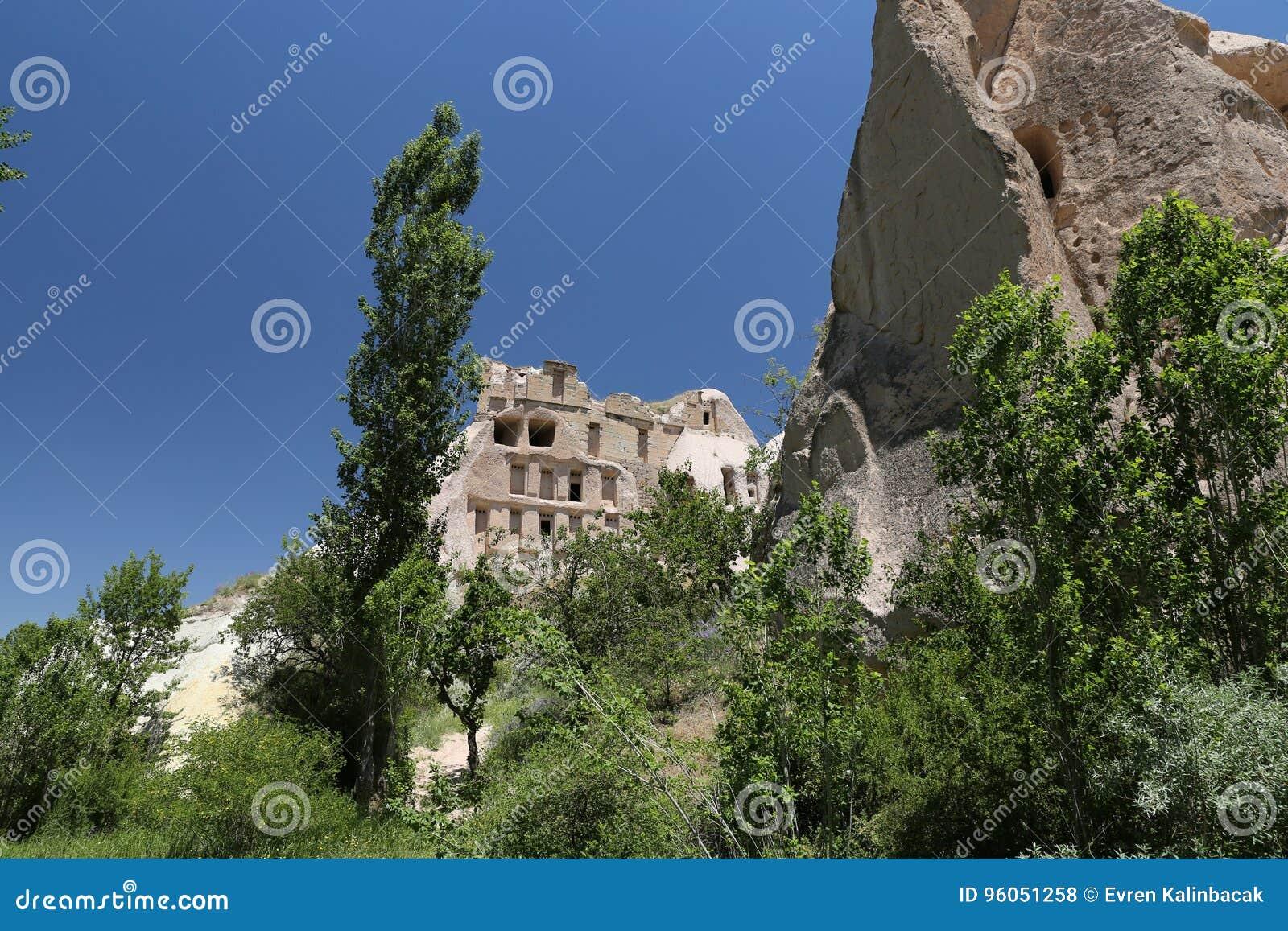 Formation de roche dans Cappadocia