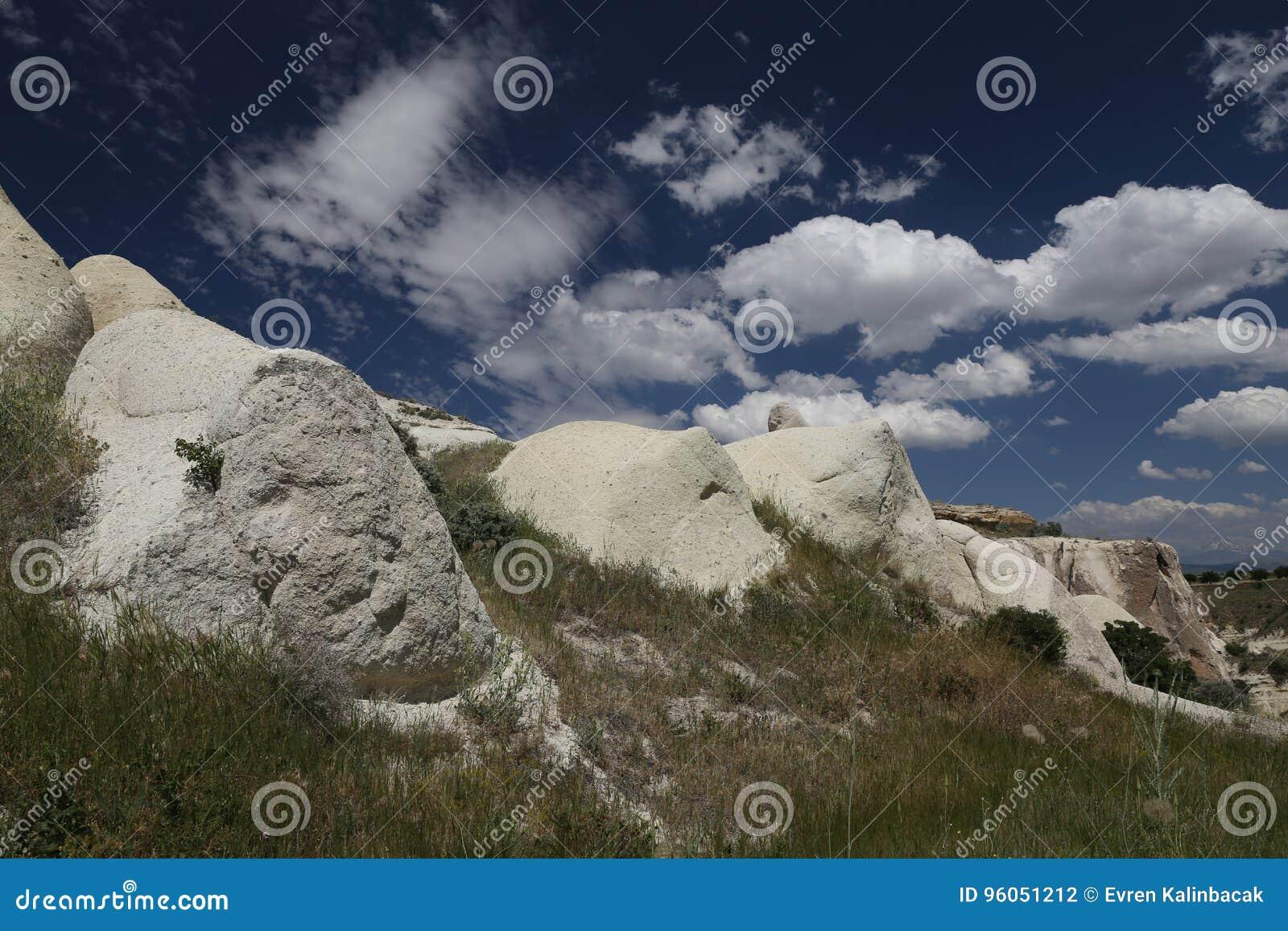 Formation de roche en vallée de pigeons, Cappadocia