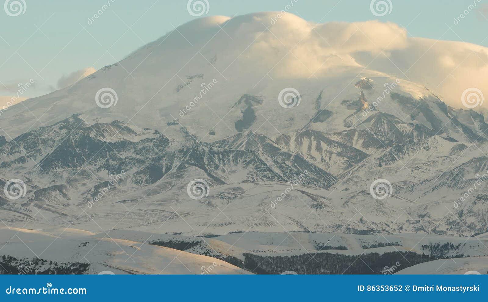 Where is the volcano Elbrus 63