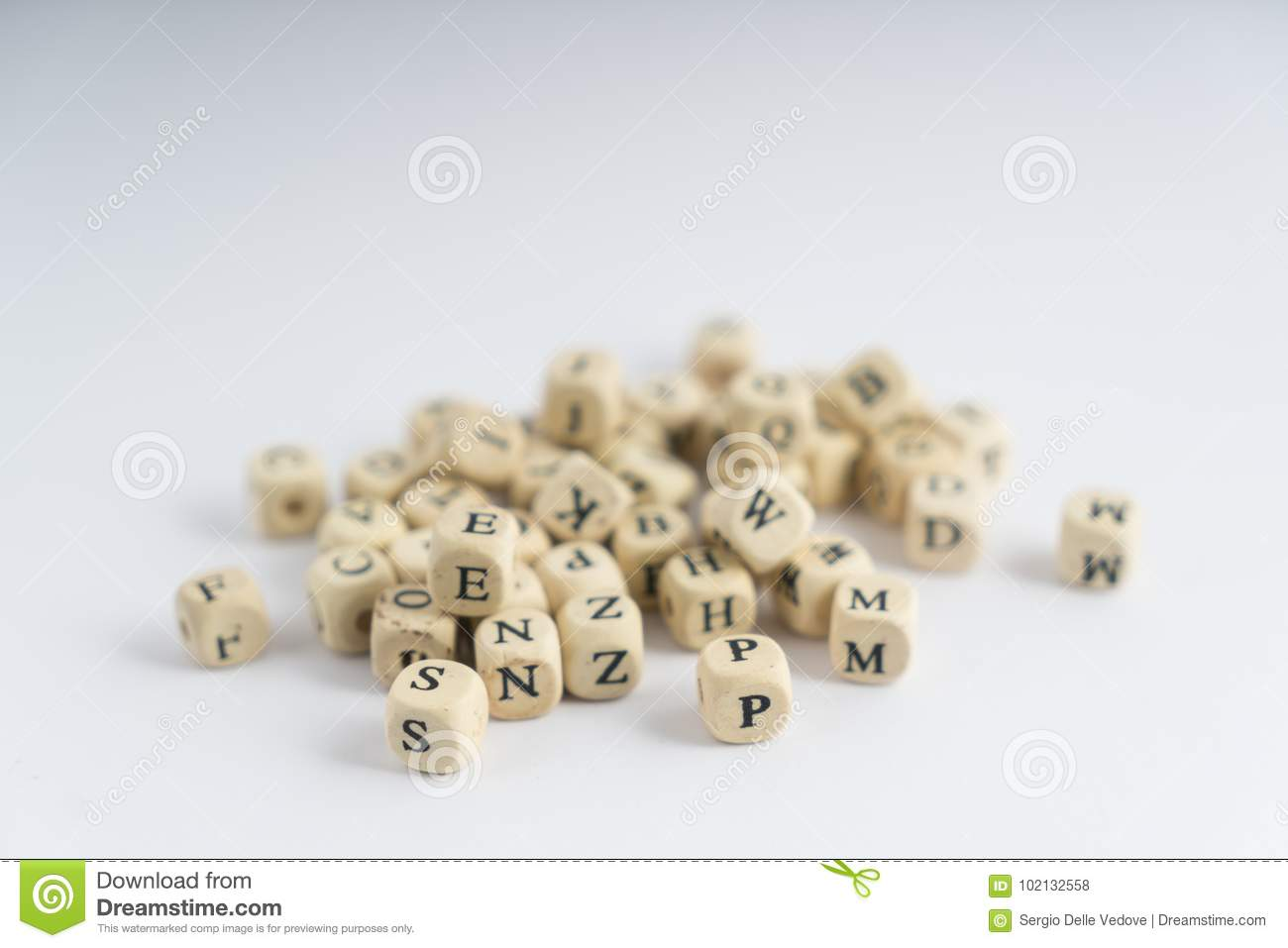 Nuts With Letters Stock Photo Image Of Female Nobody 102132558