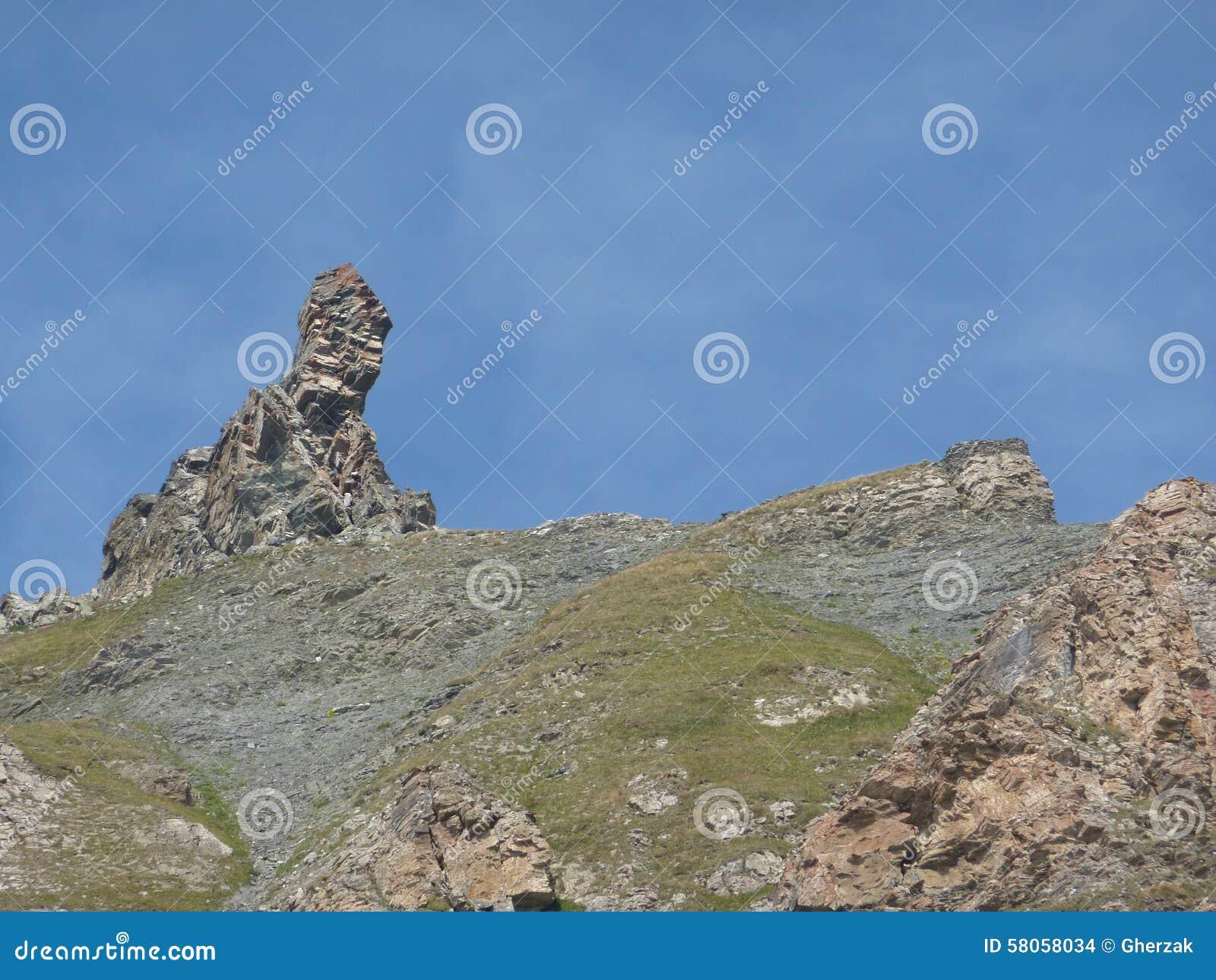 Formations de roche