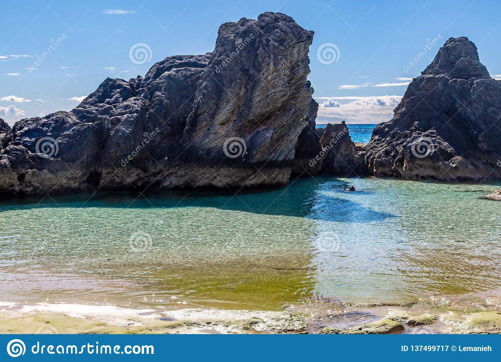 Formations de roche bermudiennes