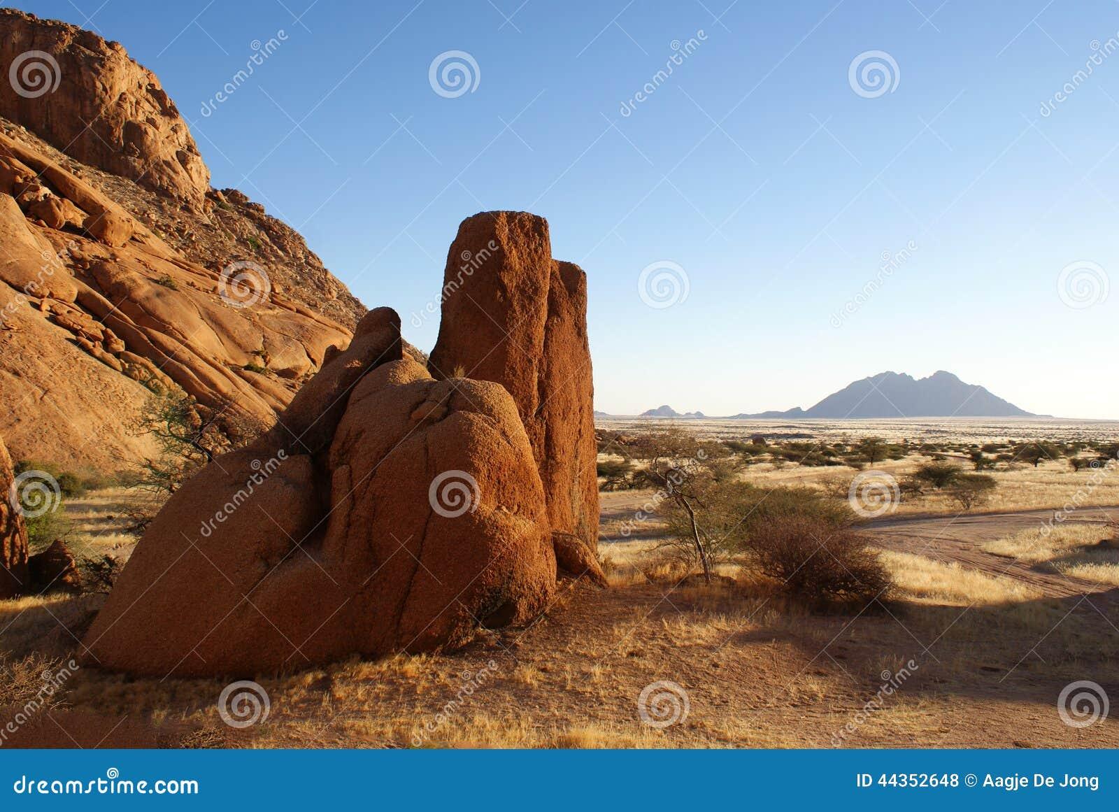 Formazione rocciosa di Spitzkoppe in Namibia