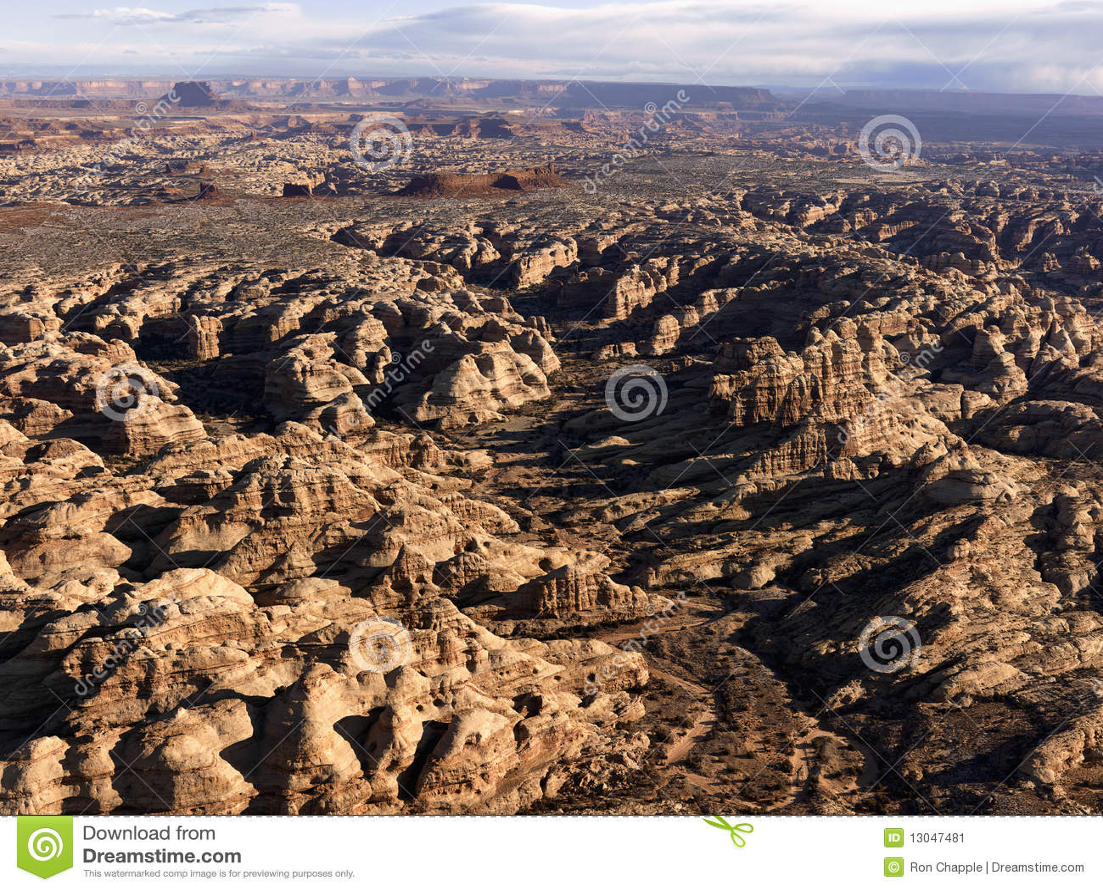 Formazioni rocciose in deserto
