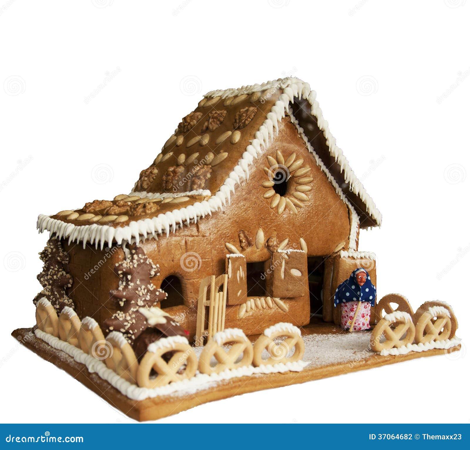 forme la maison de g teau photographie stock image 37064682. Black Bedroom Furniture Sets. Home Design Ideas