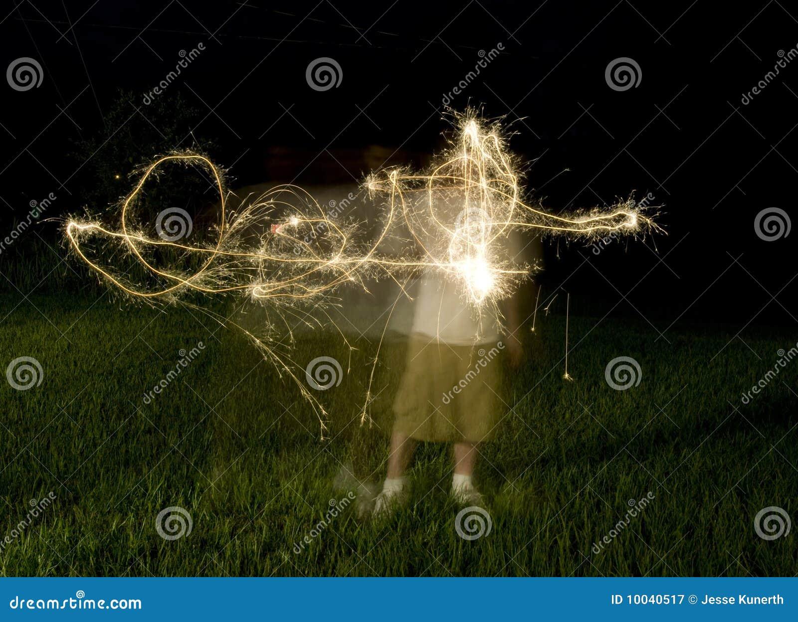 Forme abstraite des Sparklers