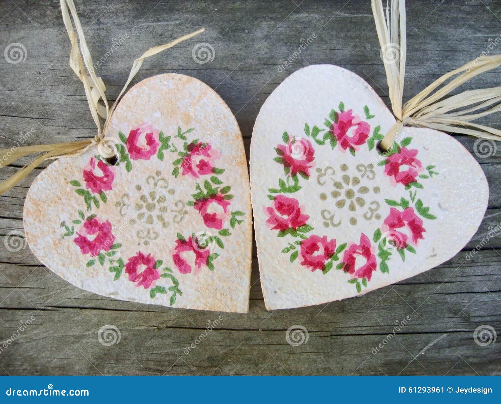 forme de coeur avec la d coration florale photo stock image 61293961. Black Bedroom Furniture Sets. Home Design Ideas