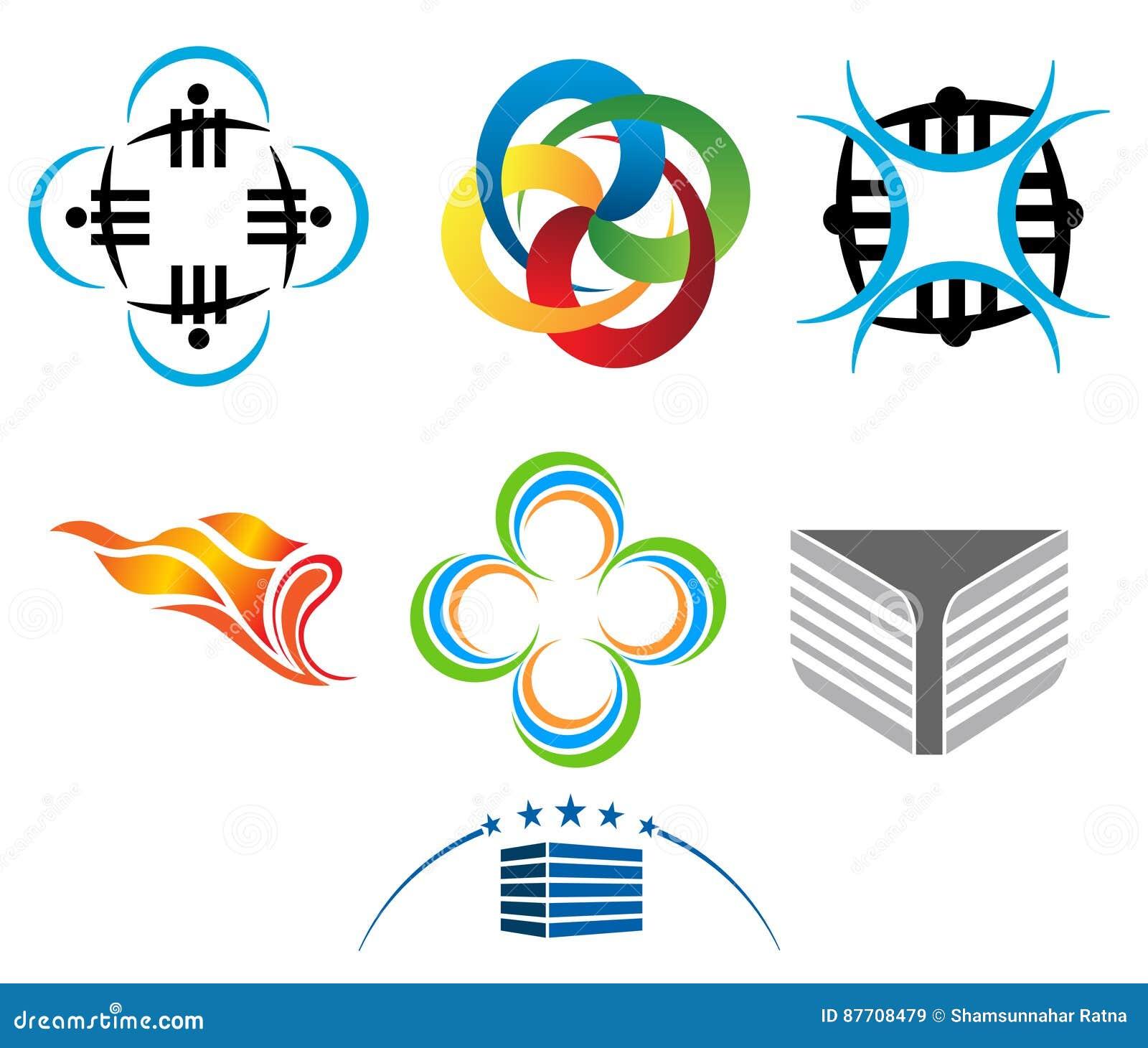 Forme de conception de logo