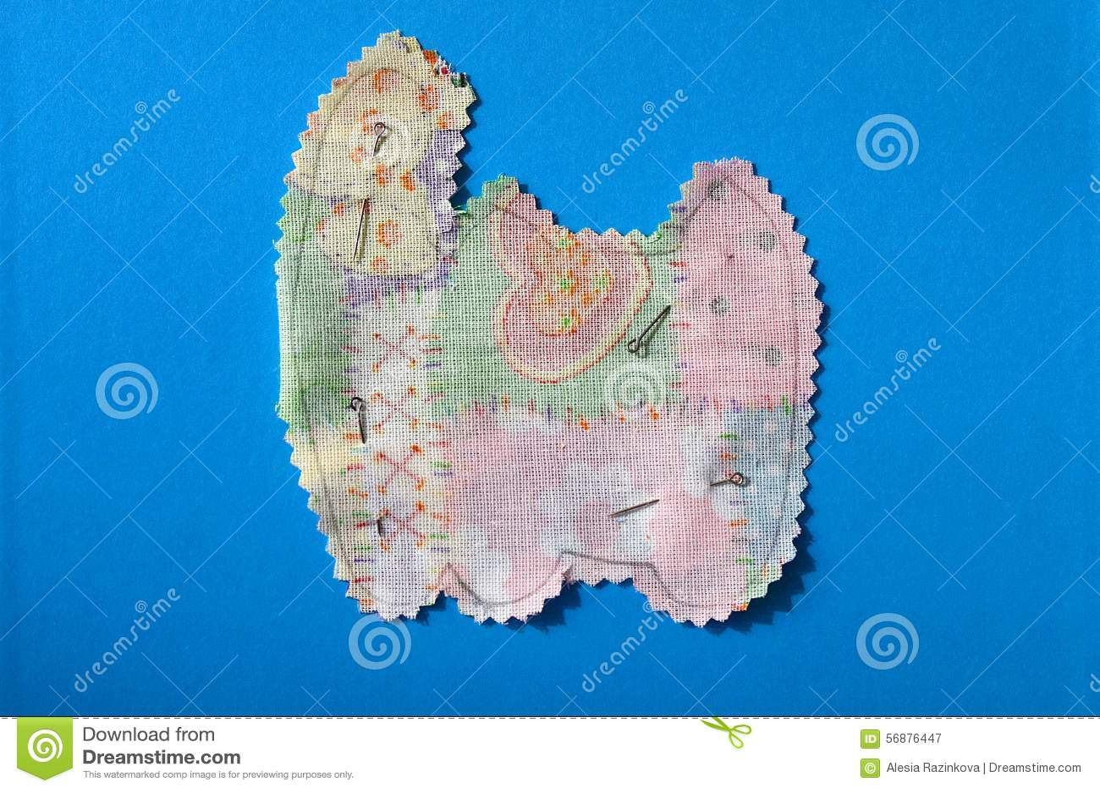 Forme dei tessuti di Scrapbooking