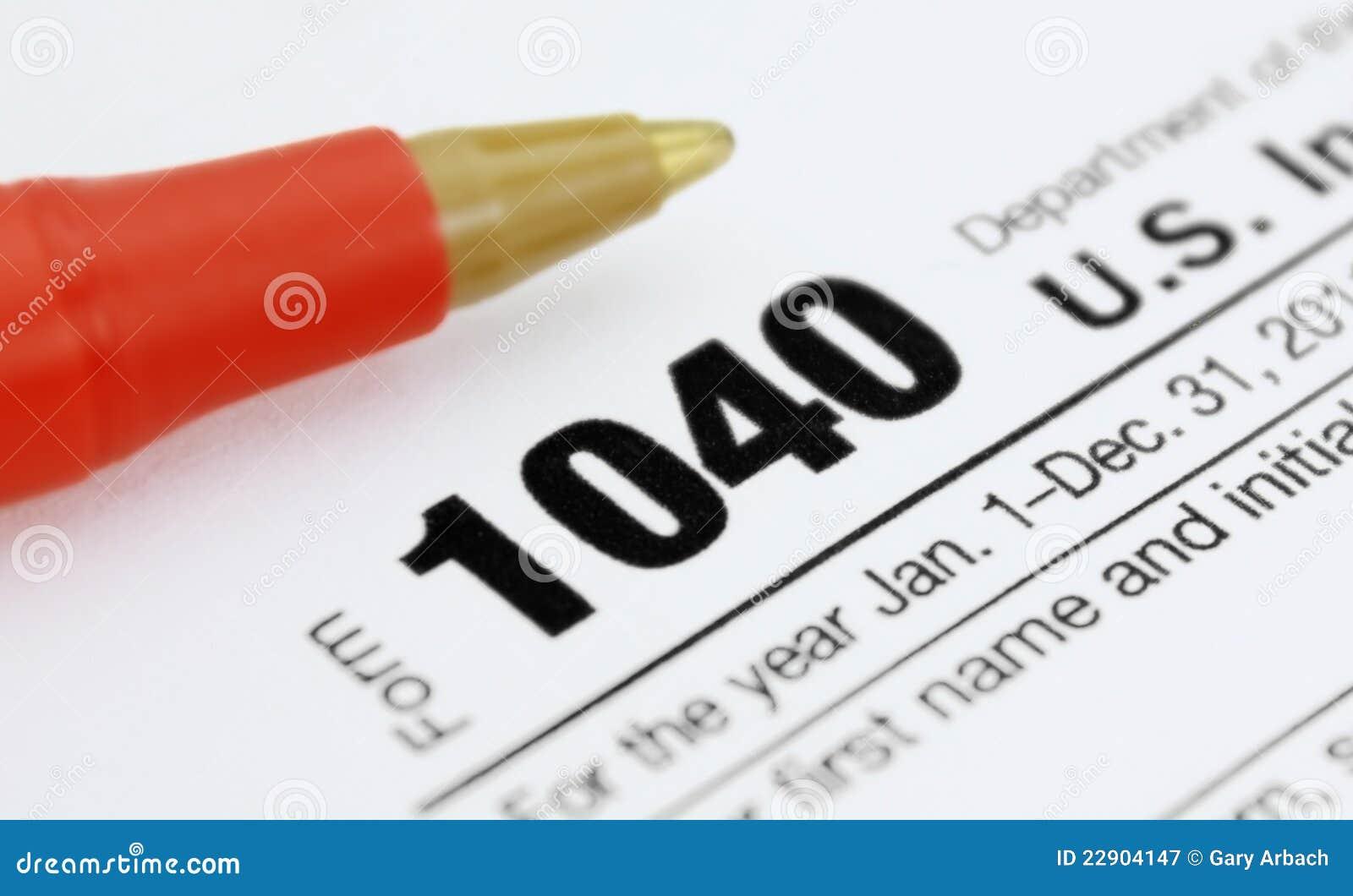 Forme la declaración sobre la renta 1040