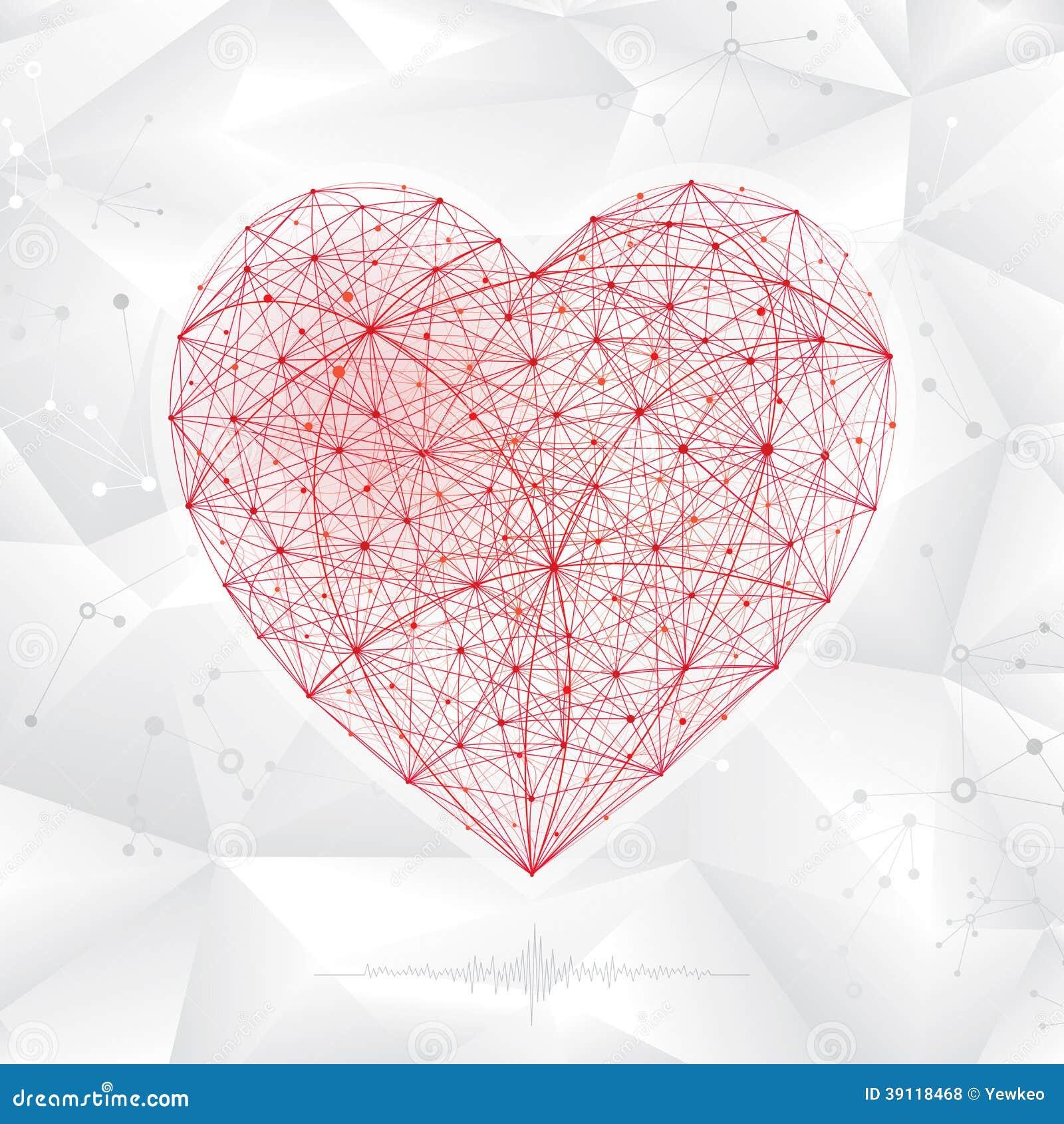 Forme moléculaire de coeur