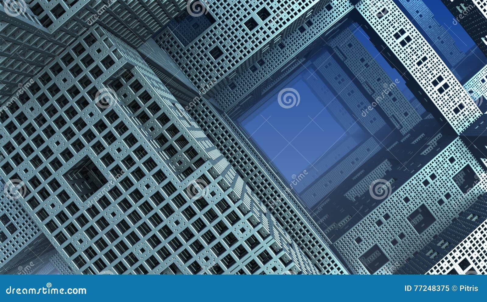 Forme ou architecture g om trique de l 39 imagination 3d for Architecture geometrique