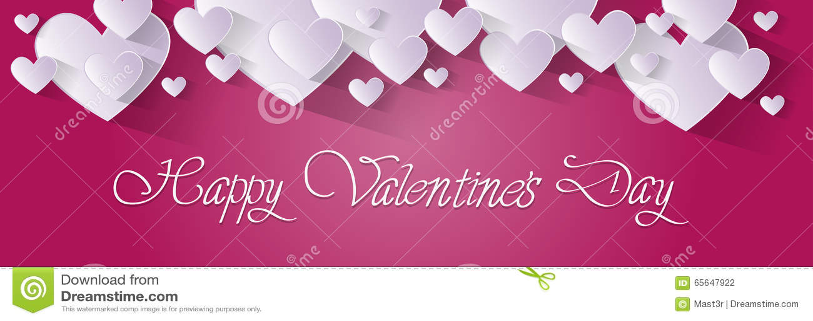 Forme rose de coeur d amour de Valentine Day Gift Card Holiday
