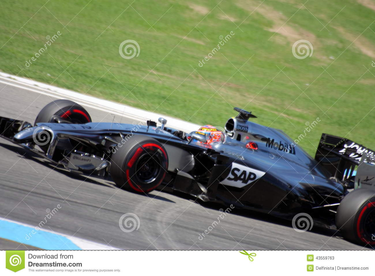 formel 1 mclaren mercedes car: jenson button - fotos f1