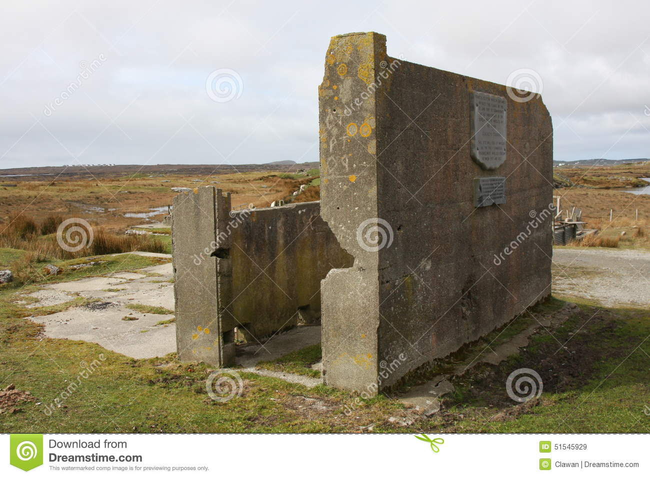 Former Marconi Site editorial stock image  Image of radio