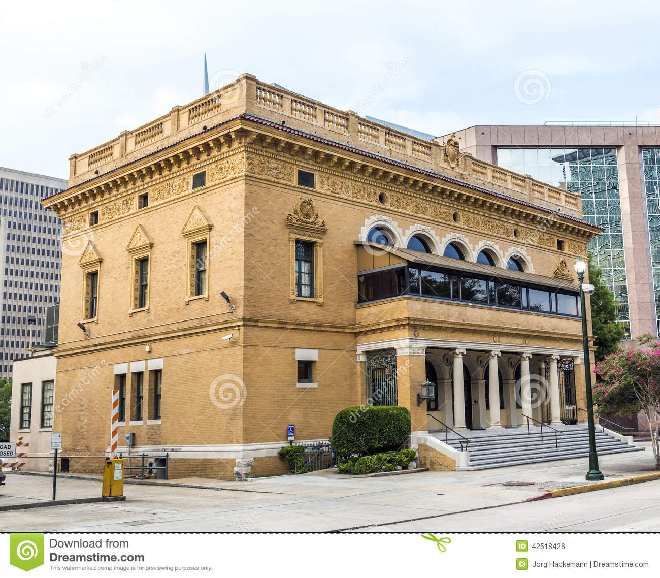 Former Post Office In Downtown Baton Rouge Stock Photo