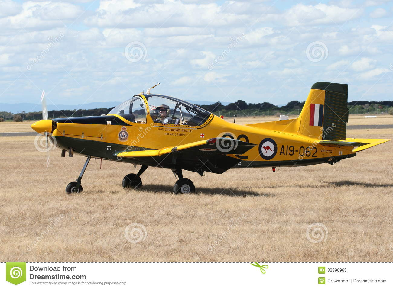 Point Cook Australia  City new picture : POINT COOK, AUSTRALIA FEBRUARY 26: The CT 4, a former RAAF trainer ...