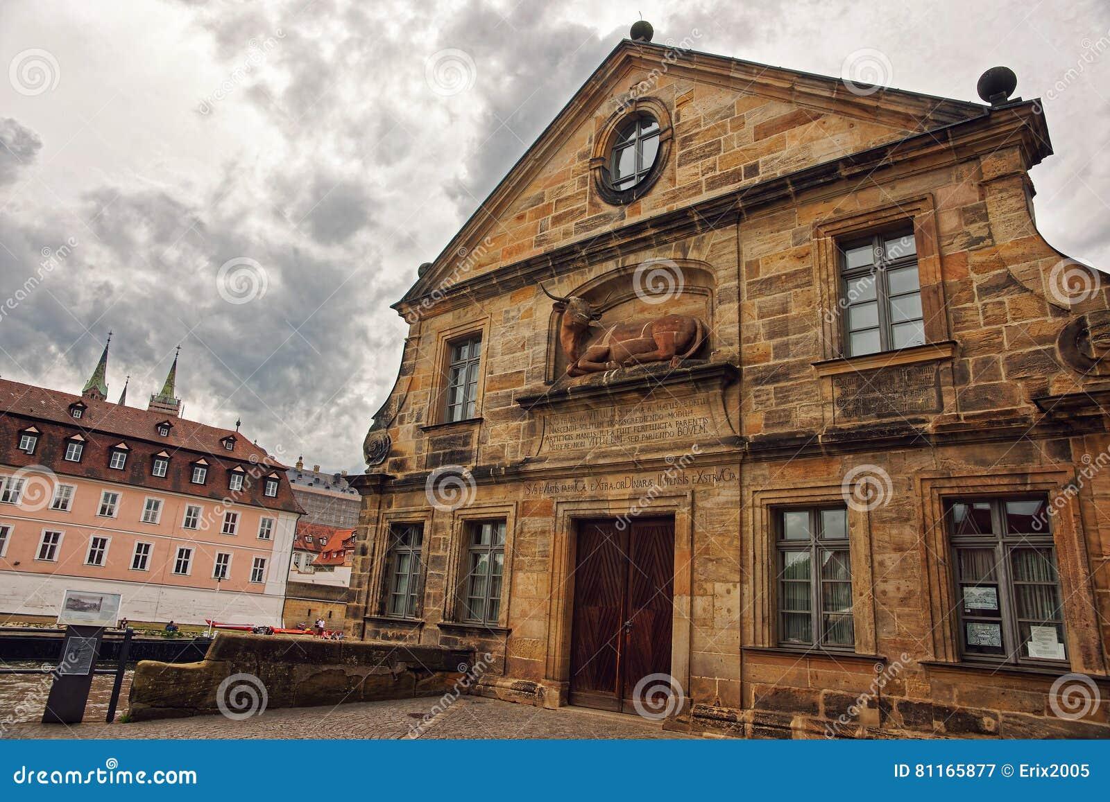 Former slaughter house in Bamberg Germany