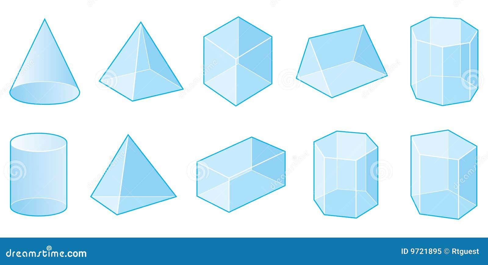 Fabulous Formes Du Vecteur 3d Affiche éducative Pour Des Enfants Ensemble  FW16
