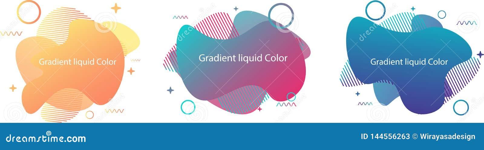 Formes liquides de gradient