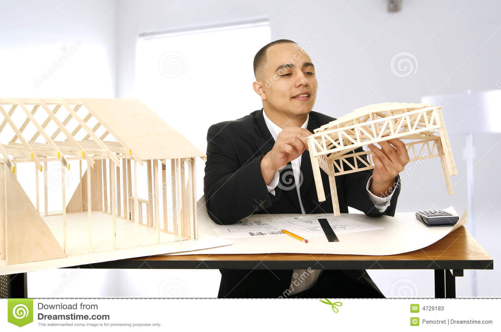 Formgivare hans kontorsworking