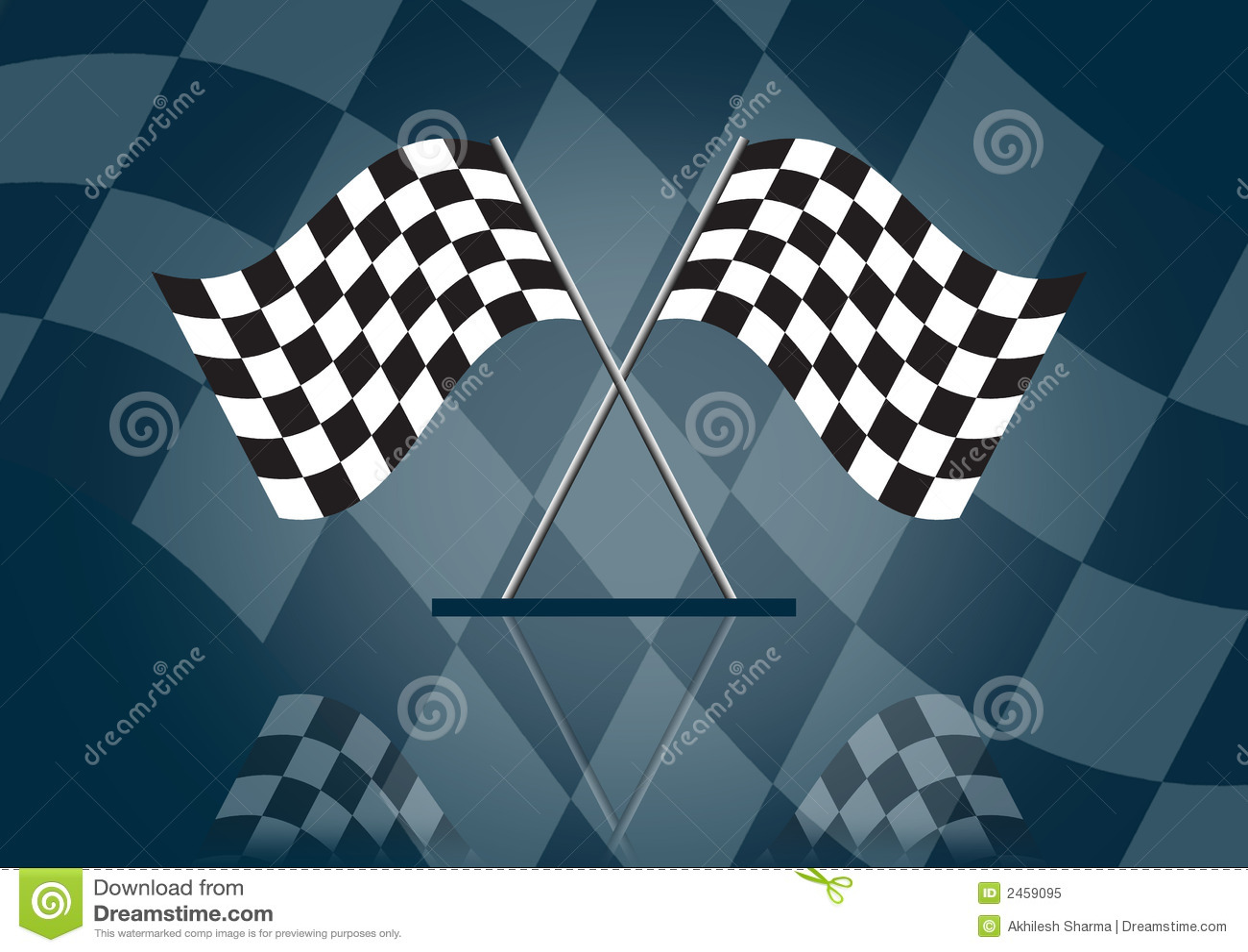 Formula 1 che corre bandierina
