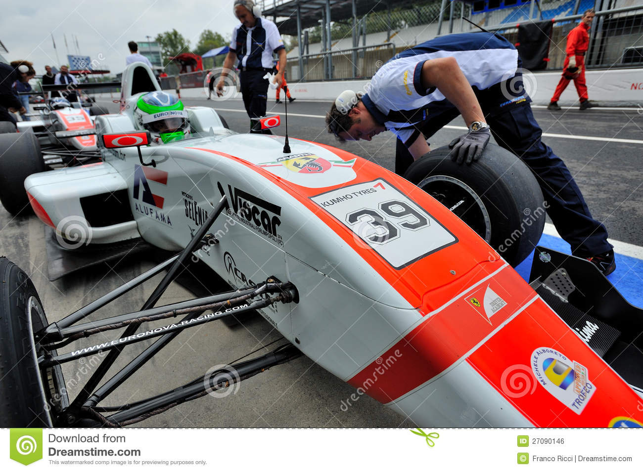 Formula Abarth In Monza Race Track Editorial Photo Image