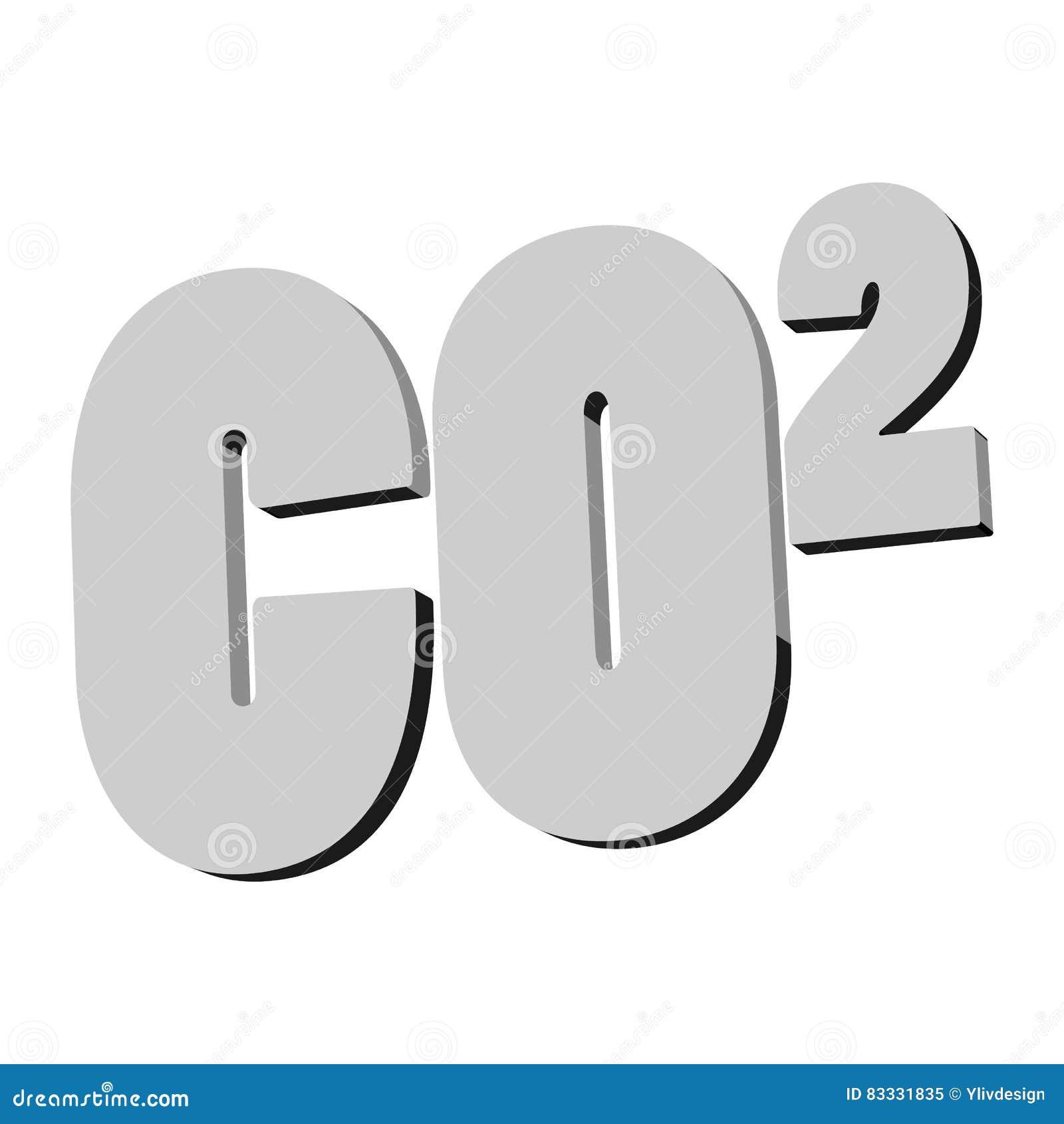 Formula of carbon dioxide icon monochrome style stock vector formula of carbon dioxide icon monochrome style buycottarizona Images