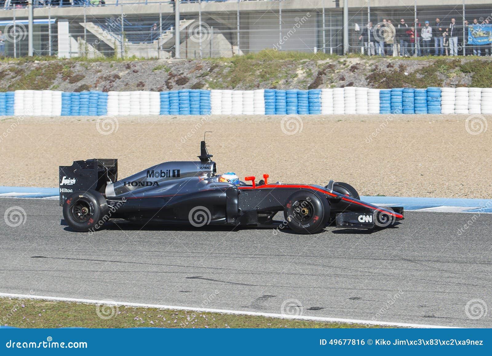 Circuito Fernando Alonso : Formula 1 2015: fernando alonso mclaren honda editorial photo