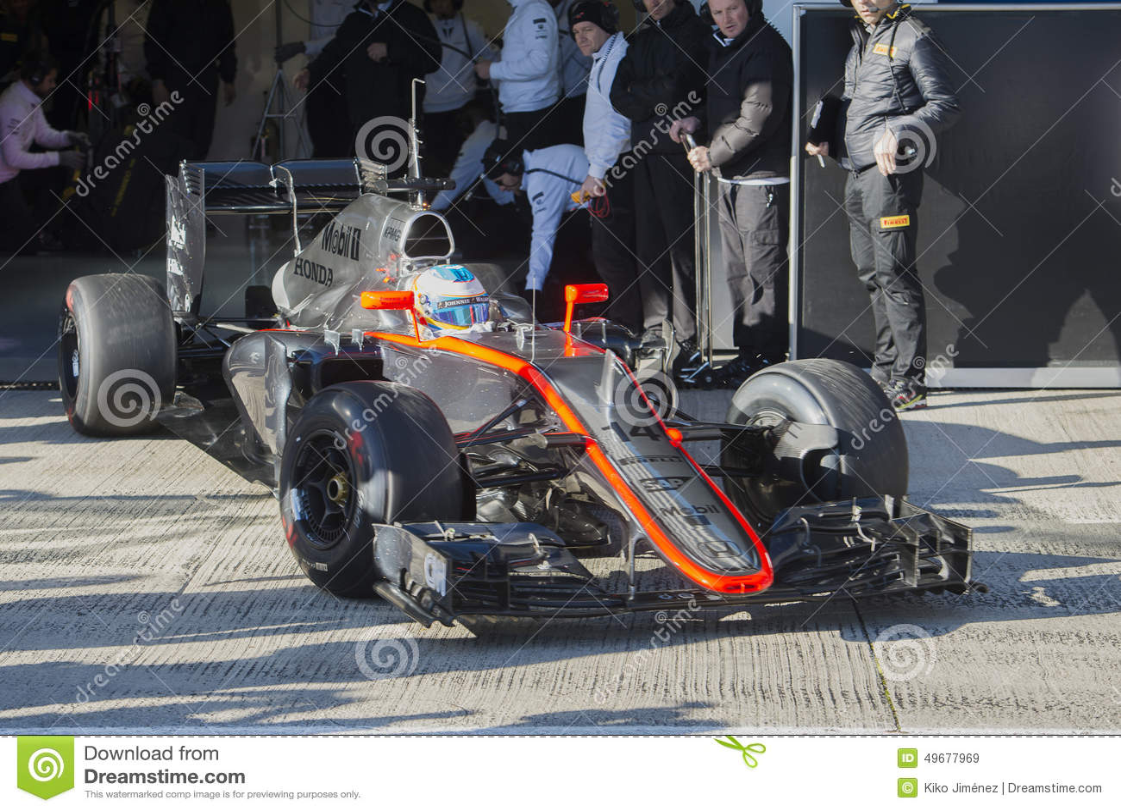 Circuito Fernando Alonso : Formula 1 2015: fernando alonso mclaren honda editorial stock