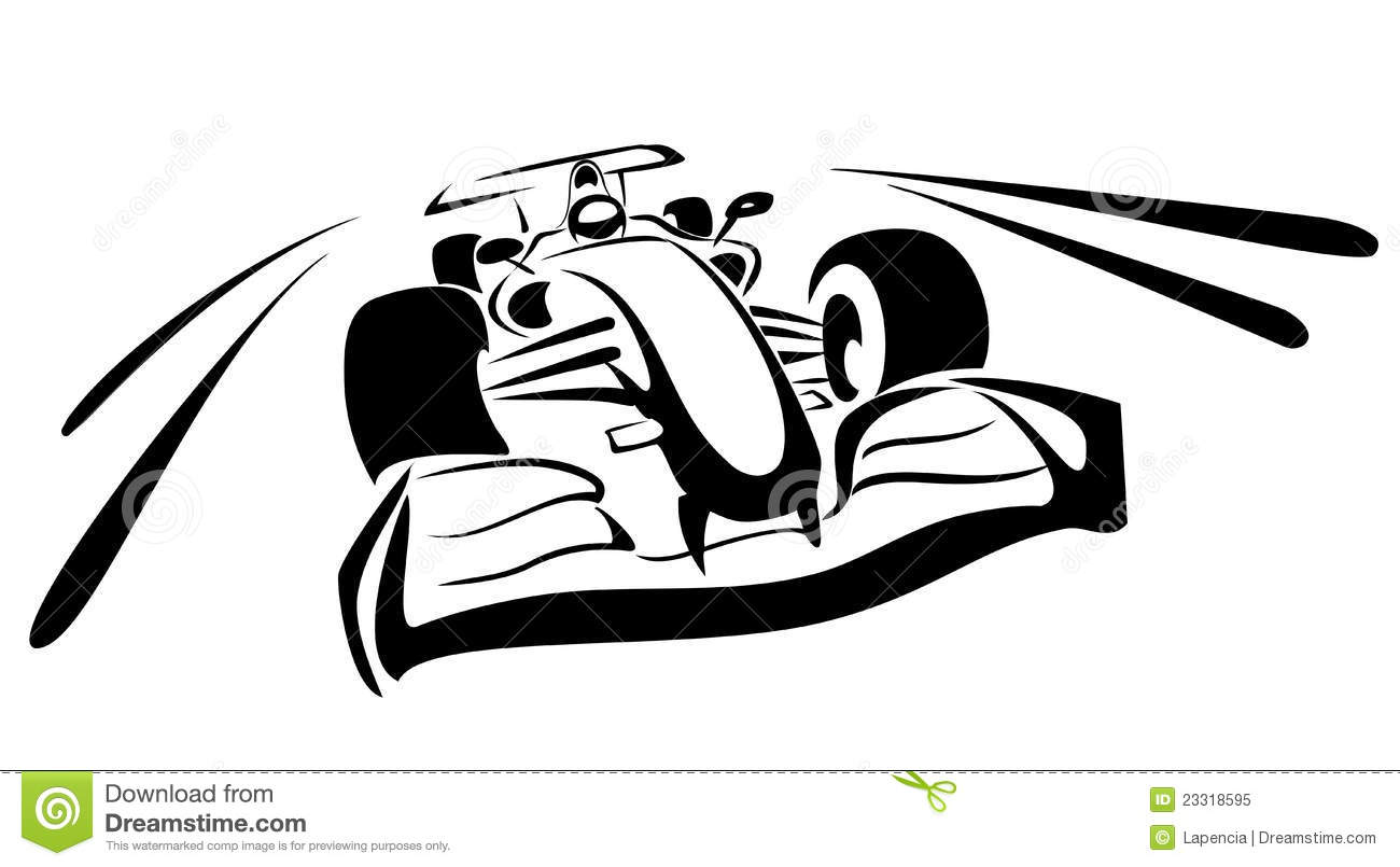 formula one sketch editorial image  illustration of