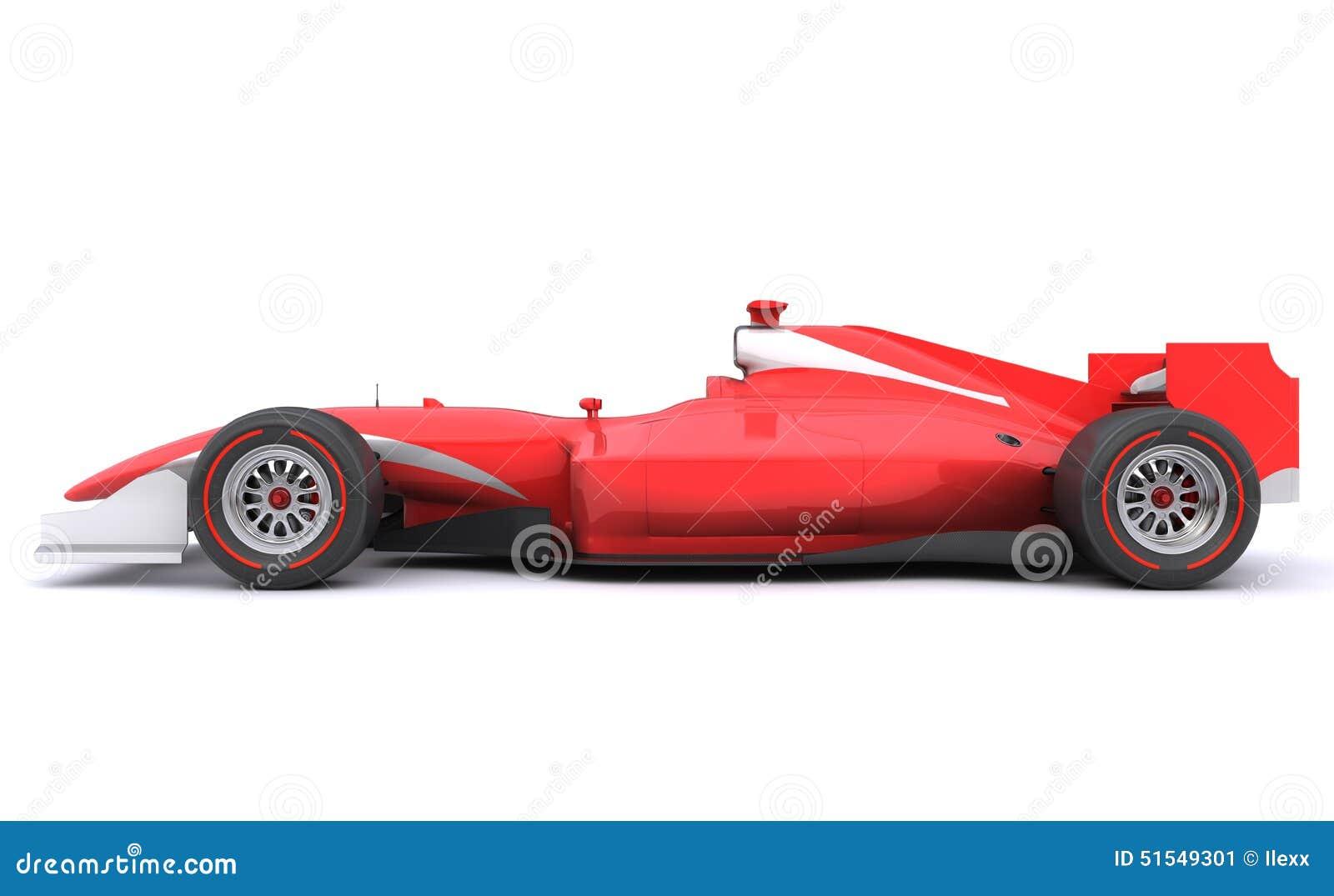 Race Car Side View Formula Race Re...