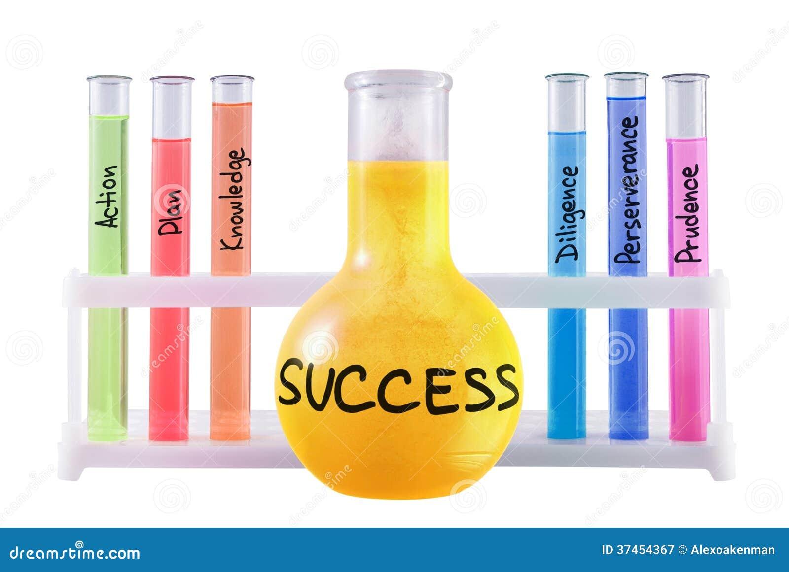 Formula Of Success  Royalty Free Stock Photography