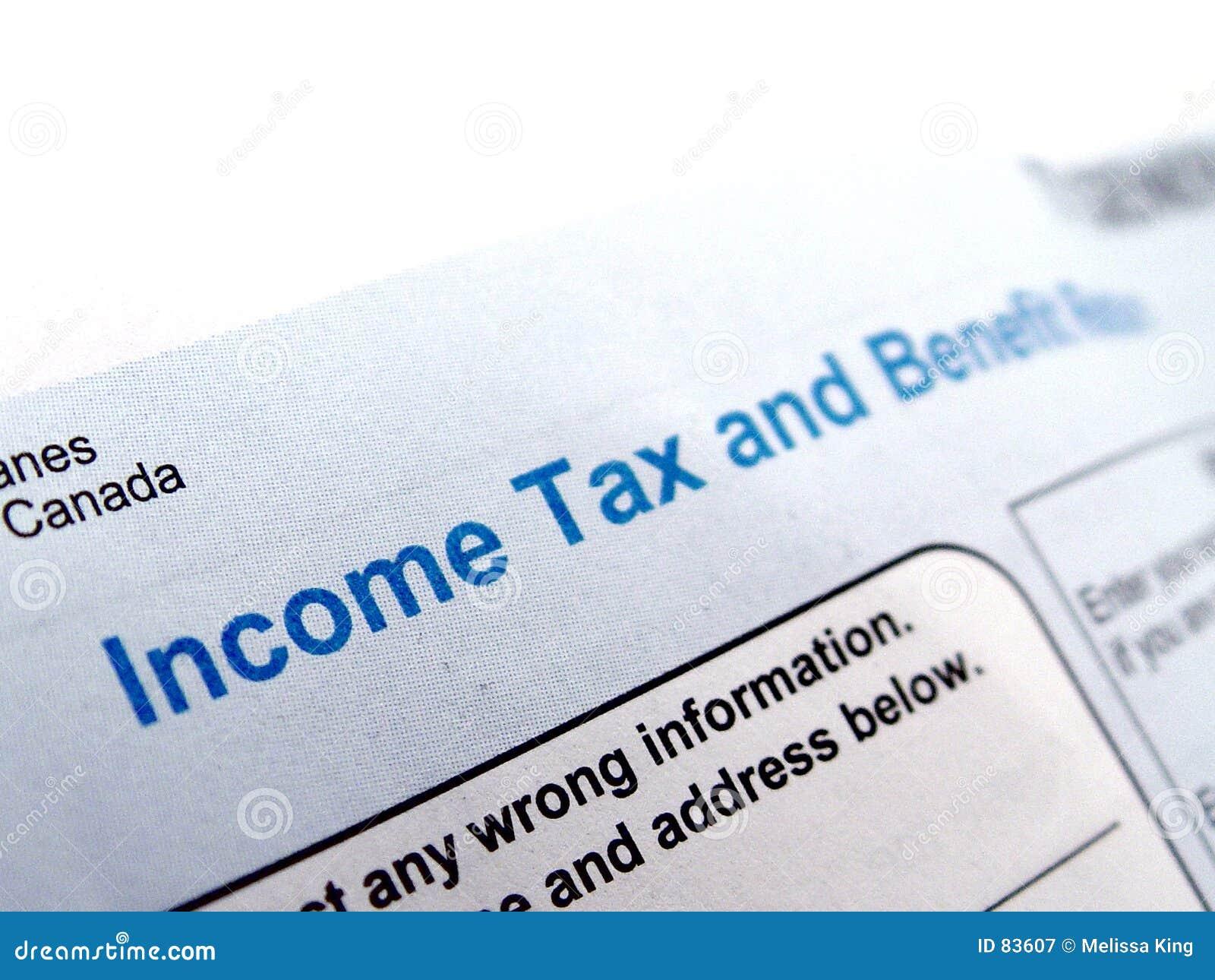 Formularz podatku dochodowego
