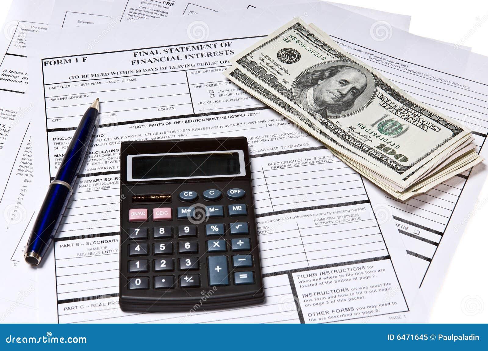 Formularze podatkowe pióra