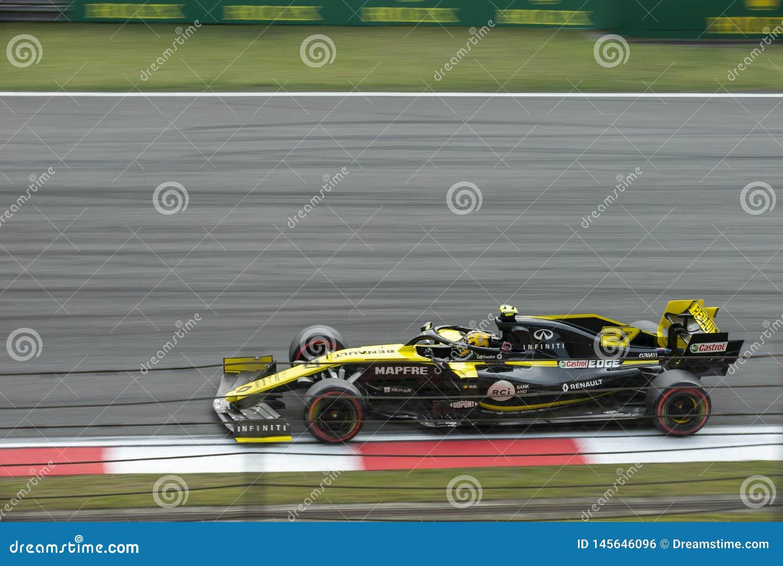 Formule 1 2019 Changhaï Renault