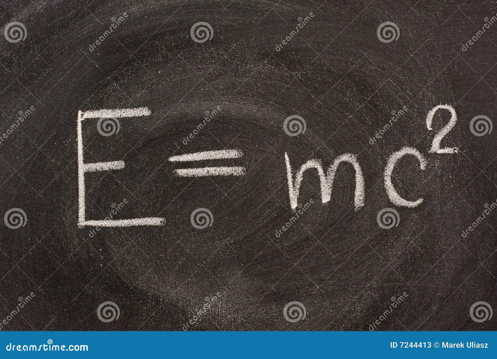 formule d einstein