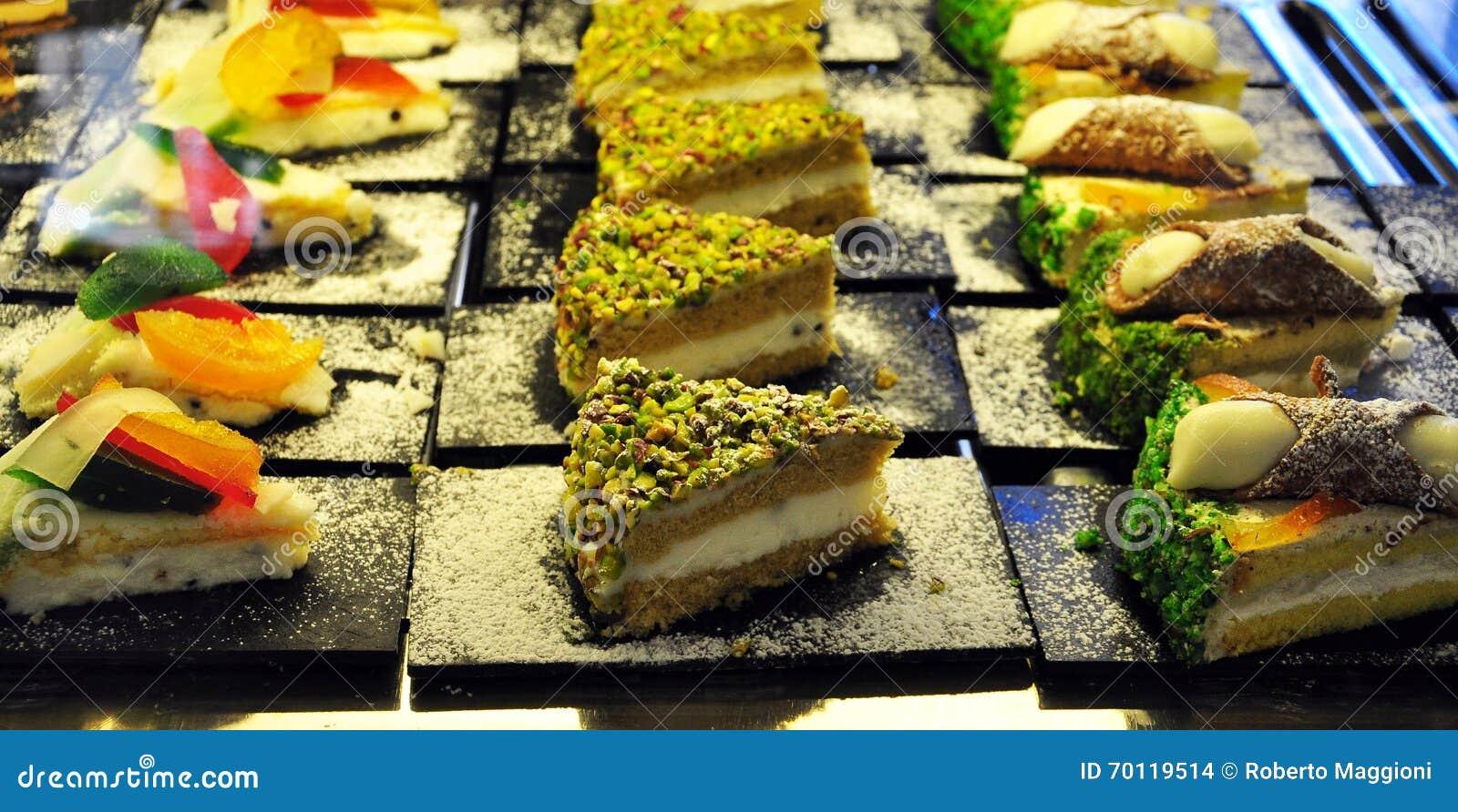 Forno siciliano Dolci tradizionali, pasticcerie ed indurito