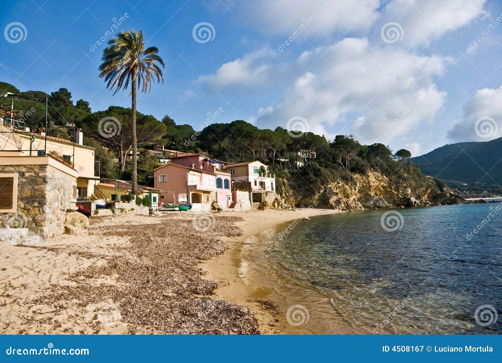 Forno Strand, Isola d Elba.