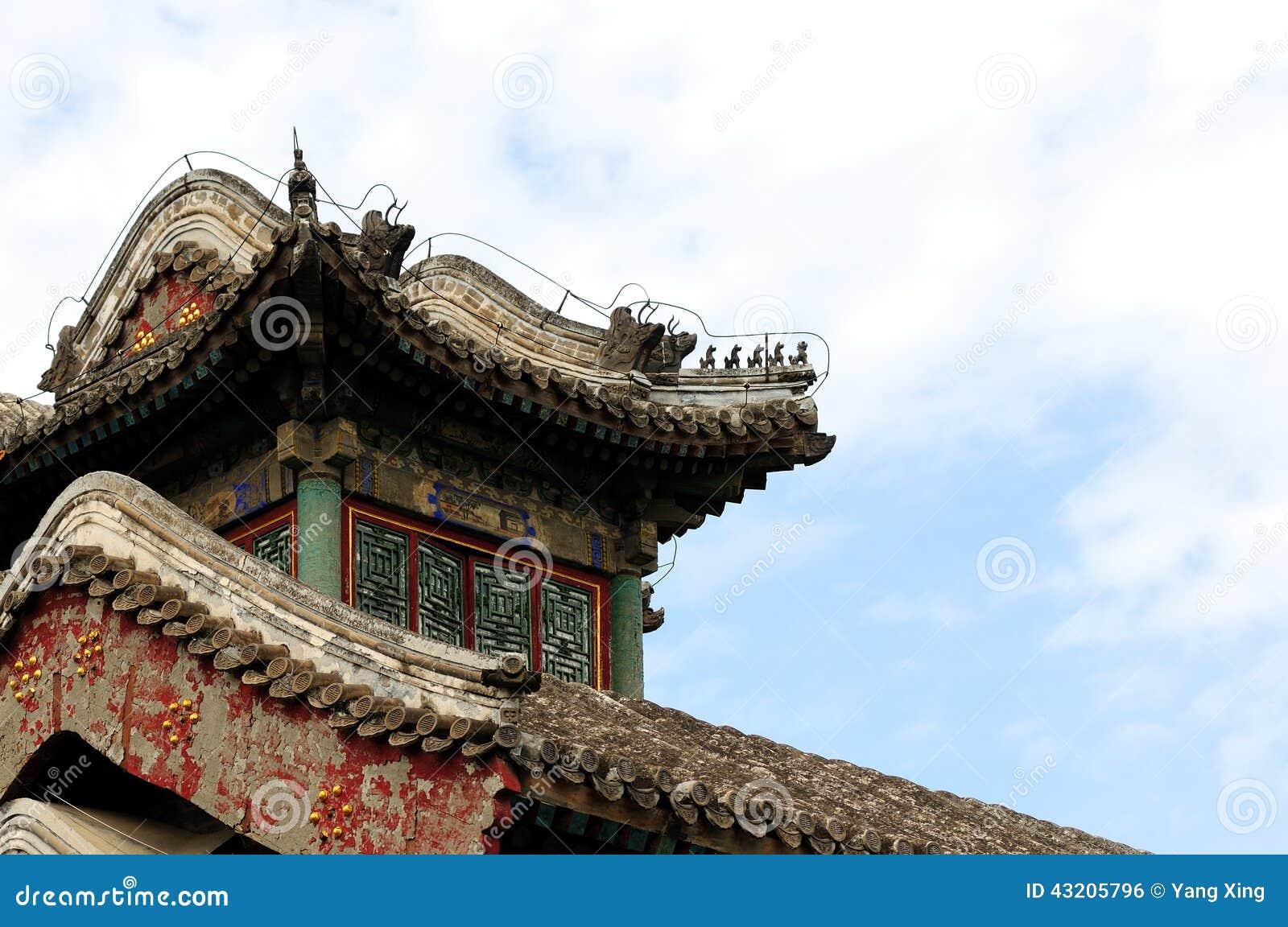 Download Forntida arkitekturkines arkivfoto. Bild av kultur, landmark - 43205796