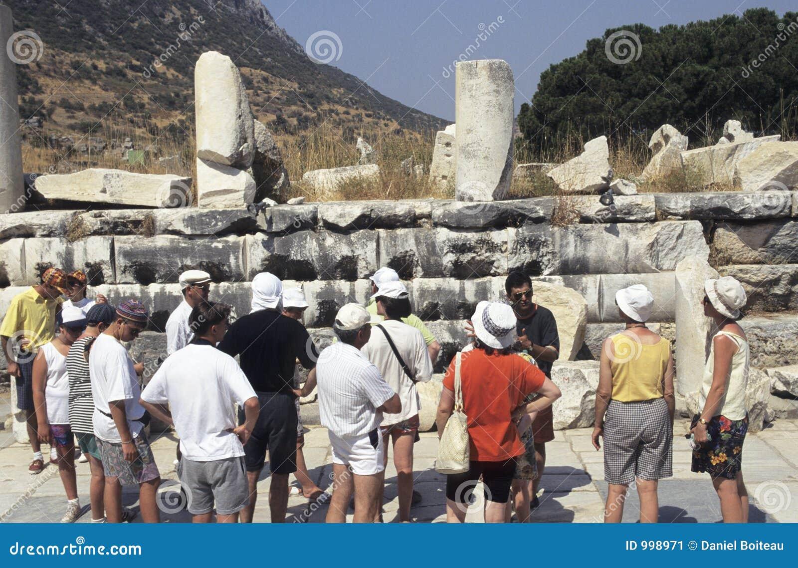 Forntida fördärvar turister