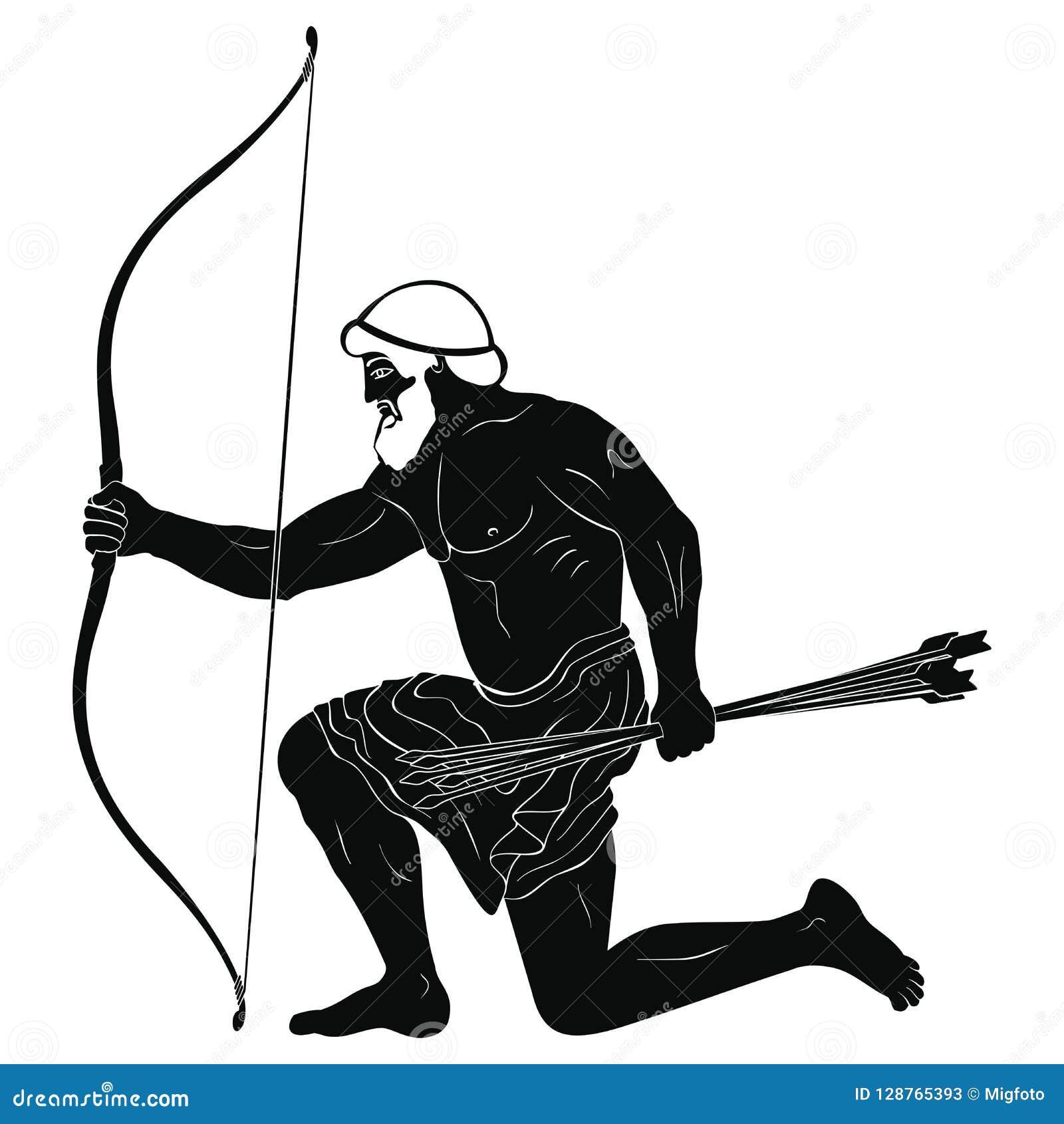 Forntida grekisk krigare